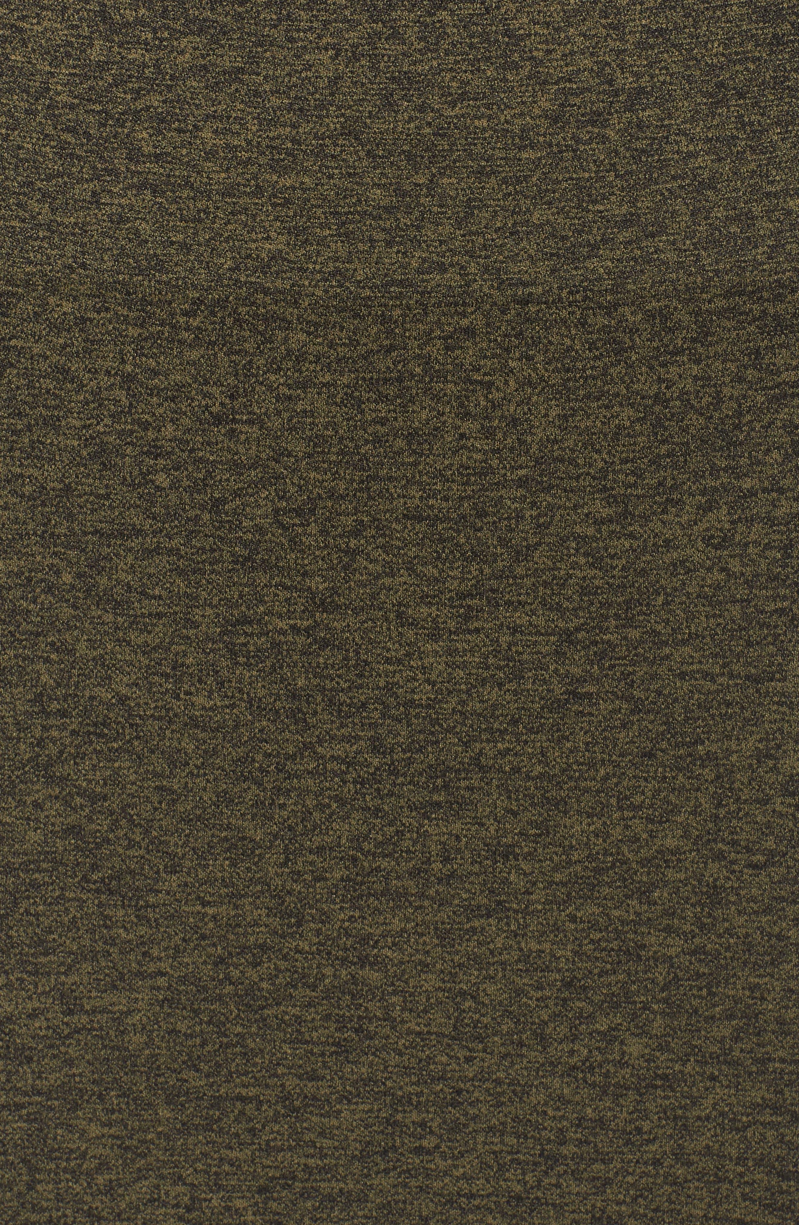 Aura Seamless Skirt,                             Alternate thumbnail 6, color,                             Deep Lichen Green/ Black