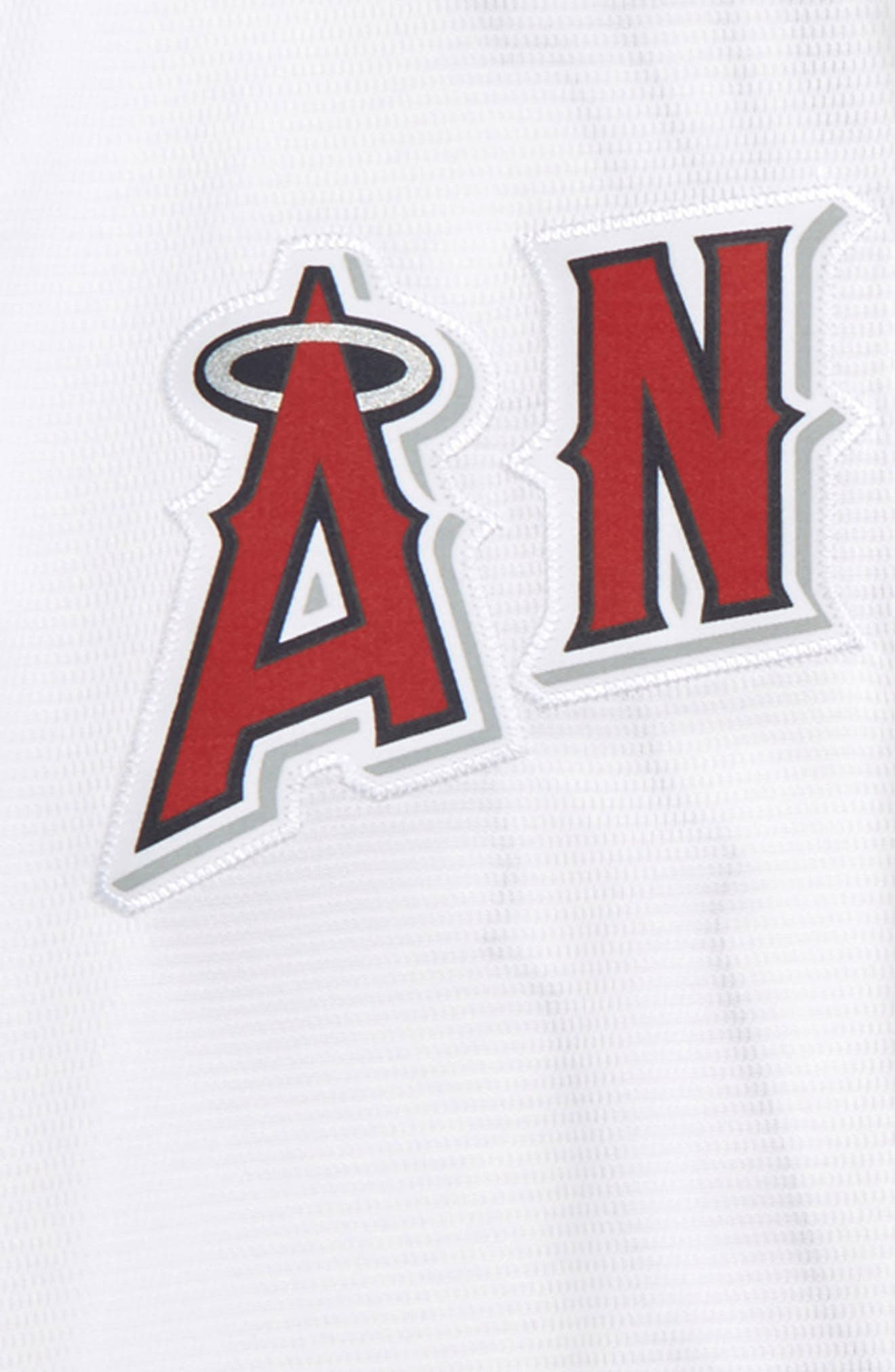 Los Angeles Angels - Mike Trout Baseball Jersey,                             Alternate thumbnail 3, color,                             White
