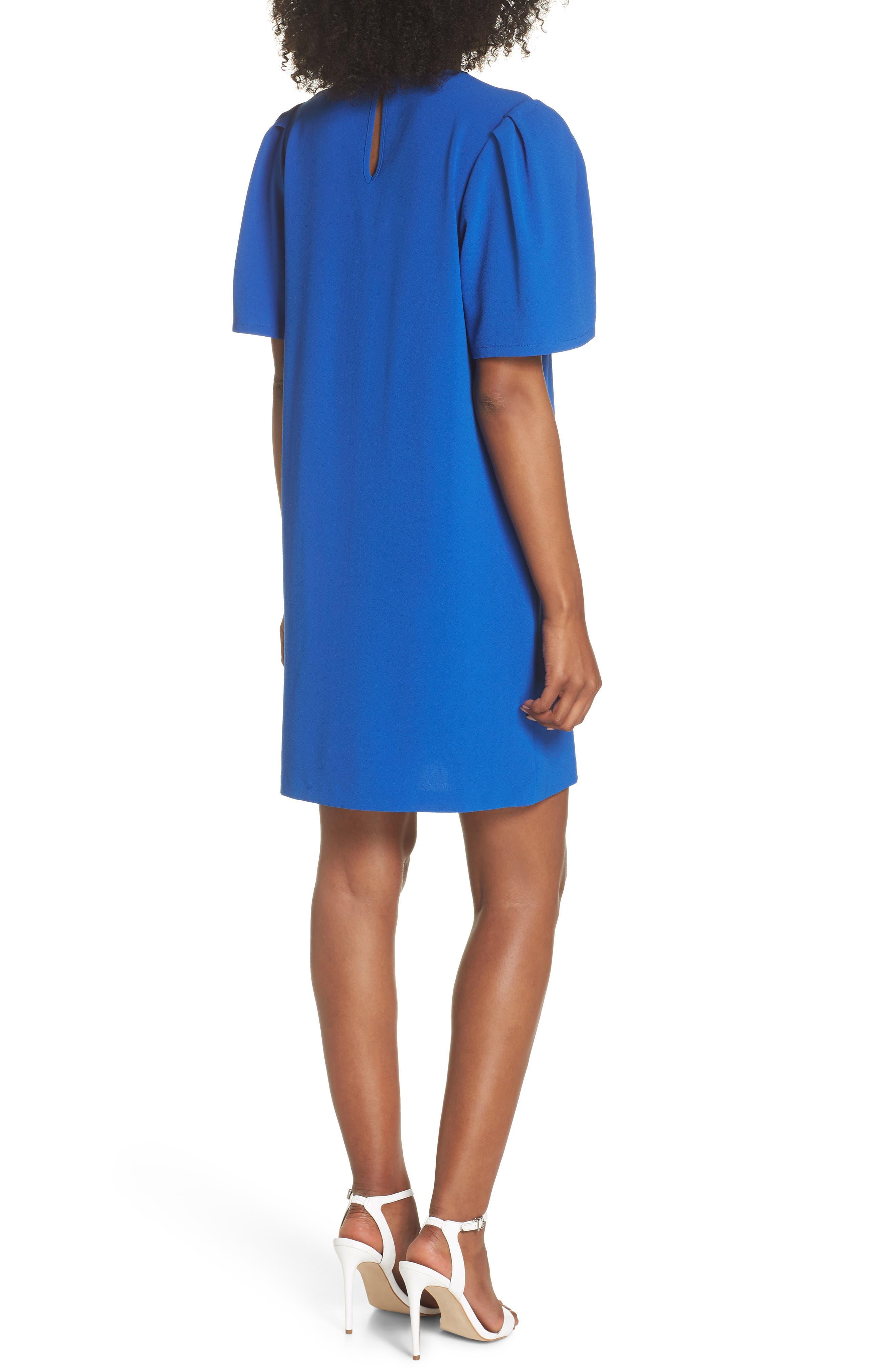 Anya Shift Dress,                             Alternate thumbnail 2, color,                             Cobalt