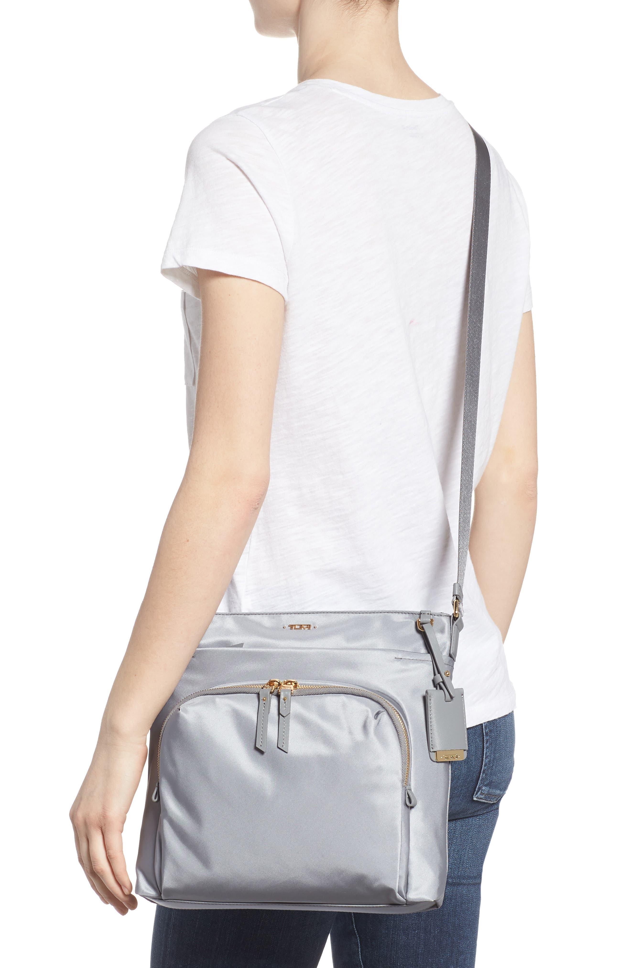 Voyager - Capri Nylon Crossbody Bag,                             Alternate thumbnail 2, color,                             Grey