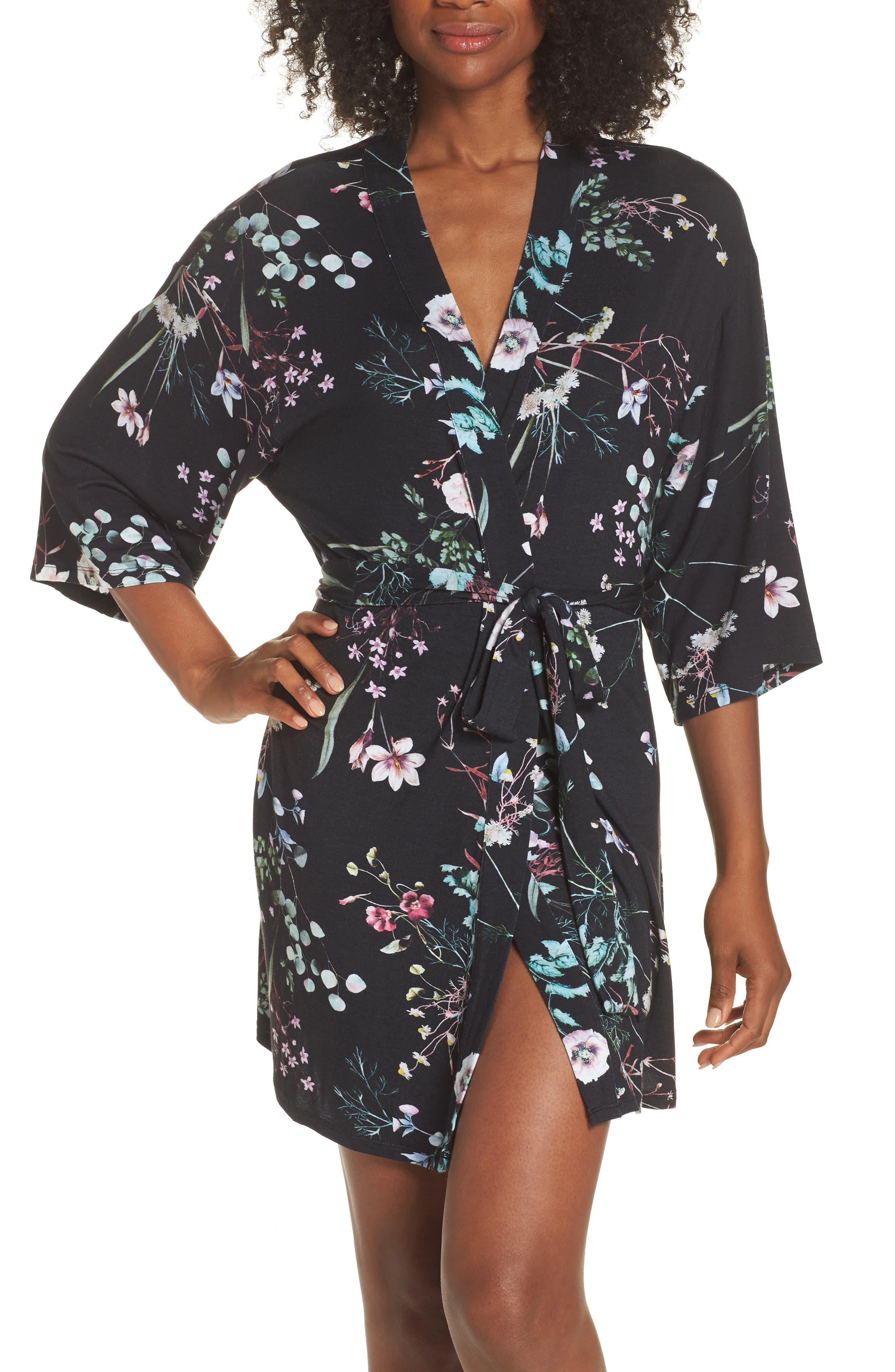 Elena Kimono,                         Main,                         color, Black