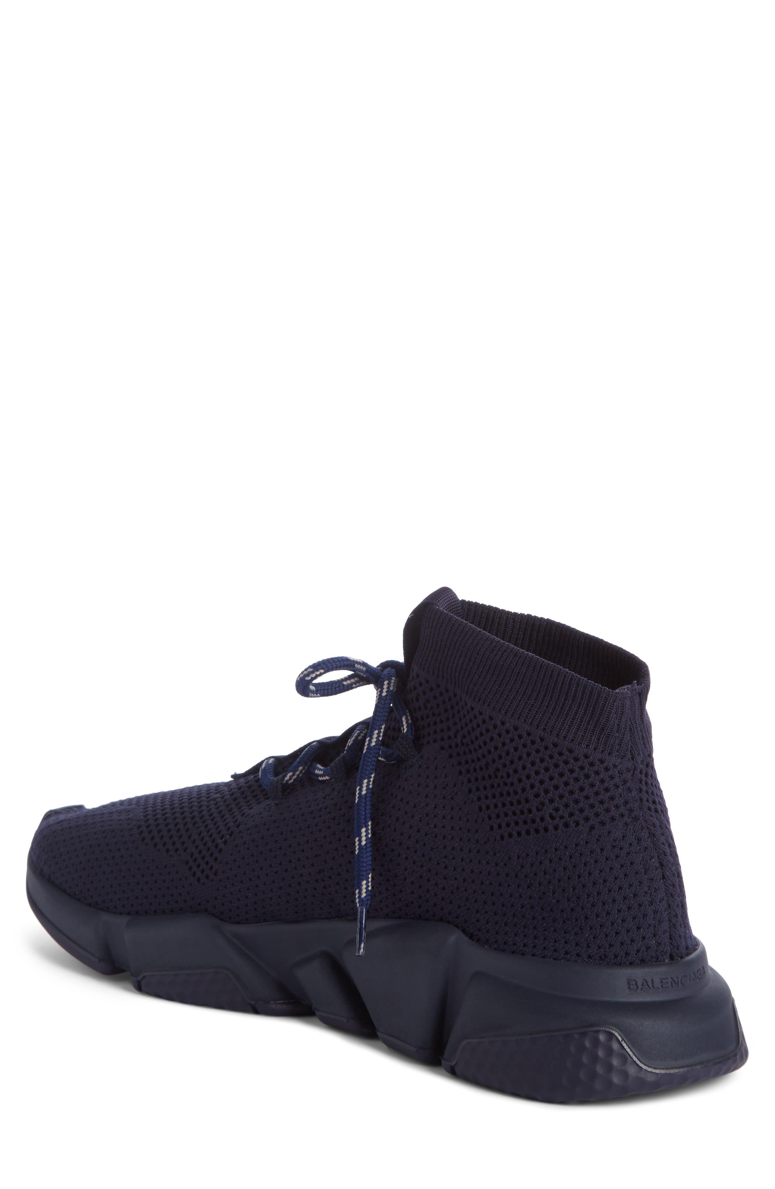Mid-Top Sneaker,                             Alternate thumbnail 2, color,                             Blue Marine/Blanc White