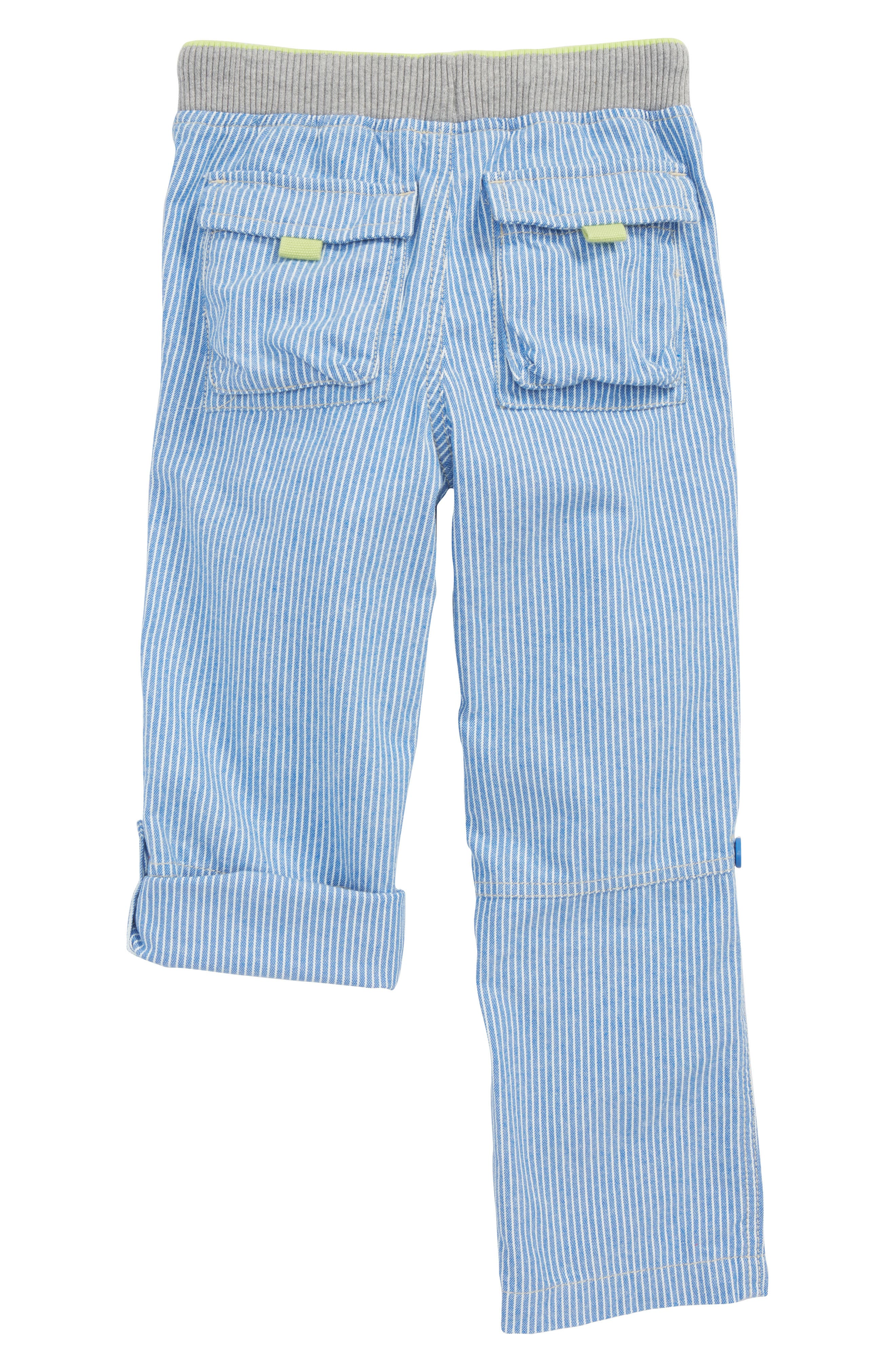 Surf Roll-Up Pants,                             Alternate thumbnail 2, color,                             Skipper Blue/ Ecru