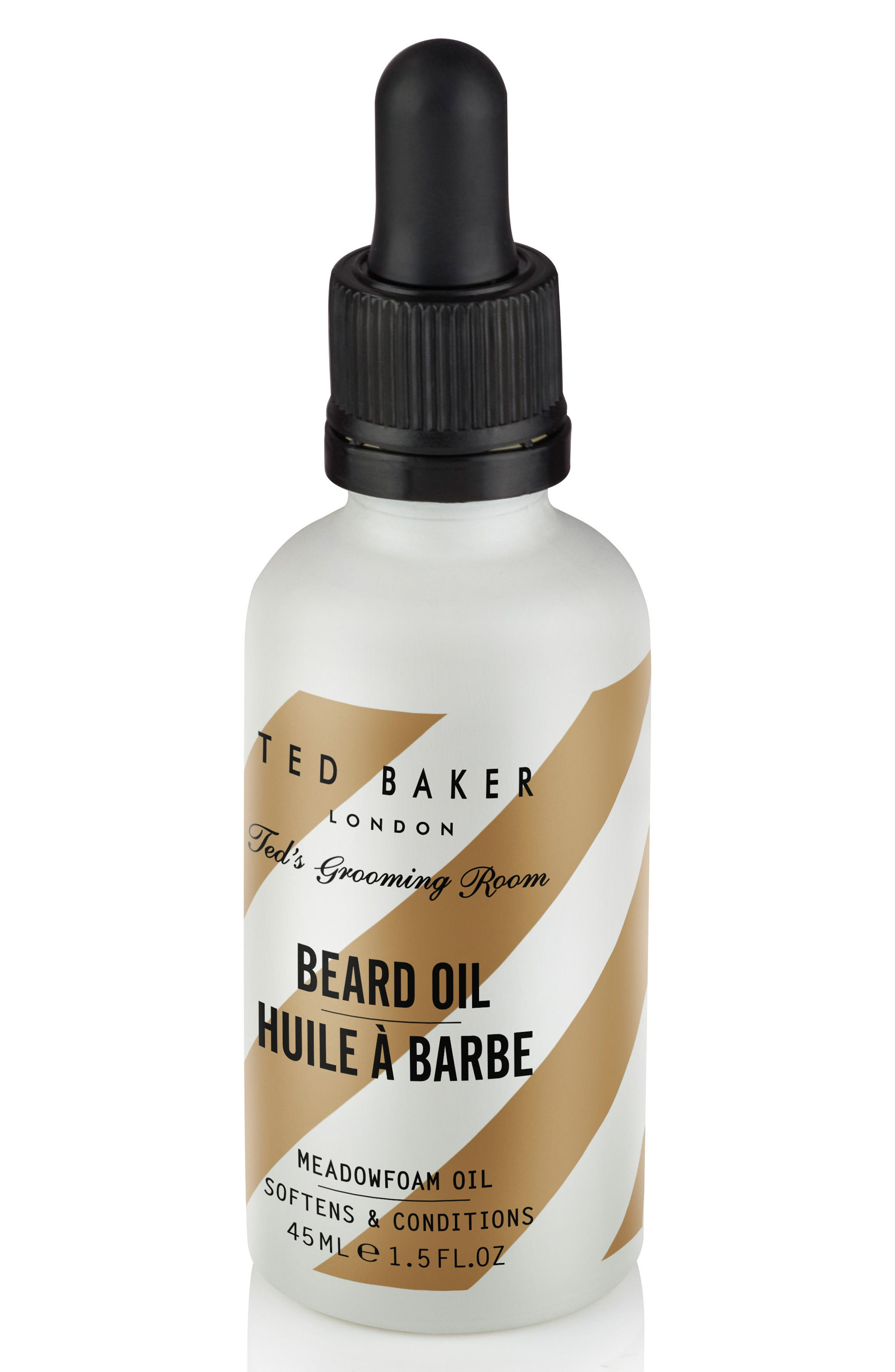Ted's Grooming Room Beard Oil,                             Alternate thumbnail 3, color,                             No Color