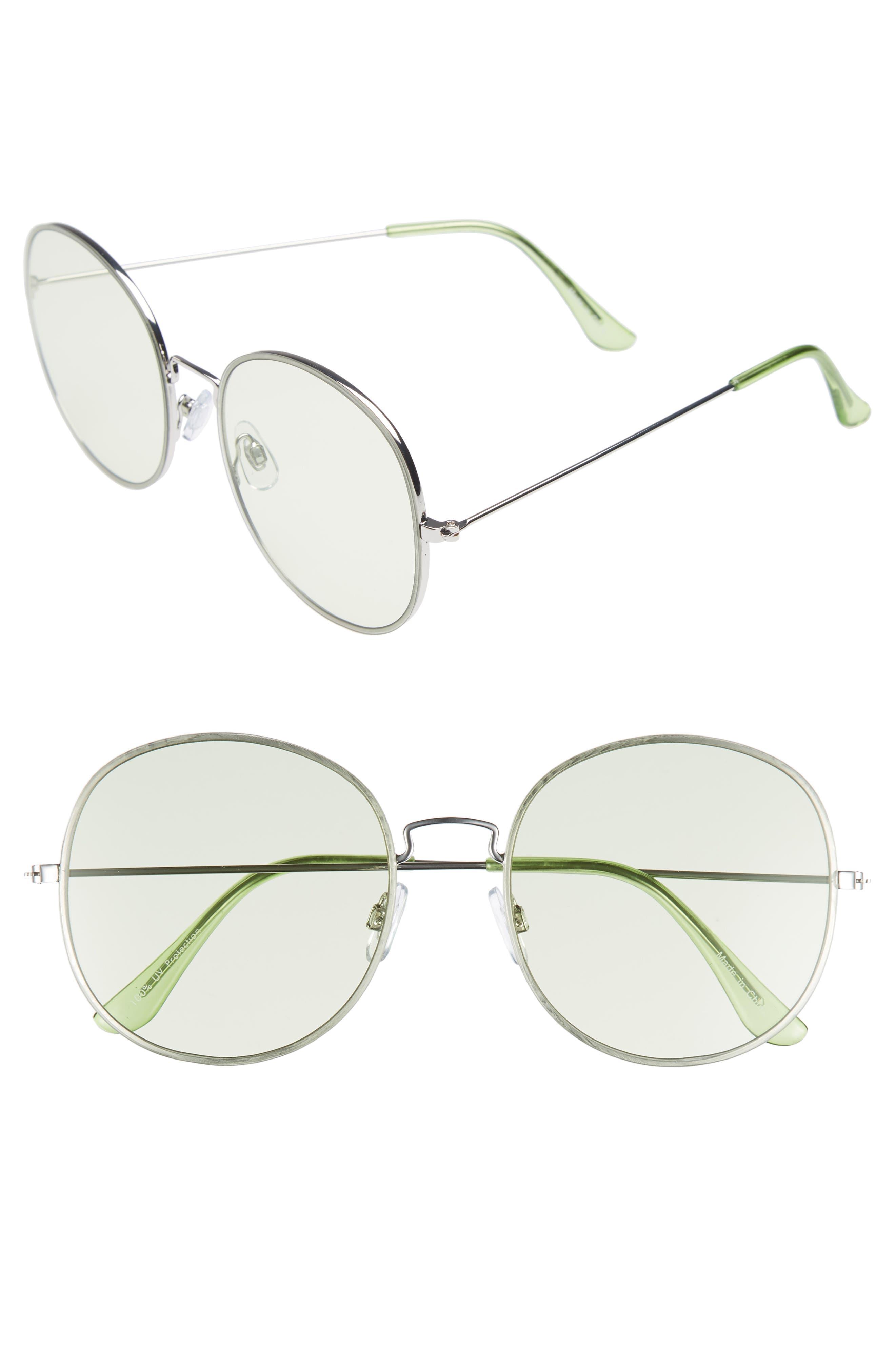 Main Image - BP. 57mm Flat Round Sunglasses