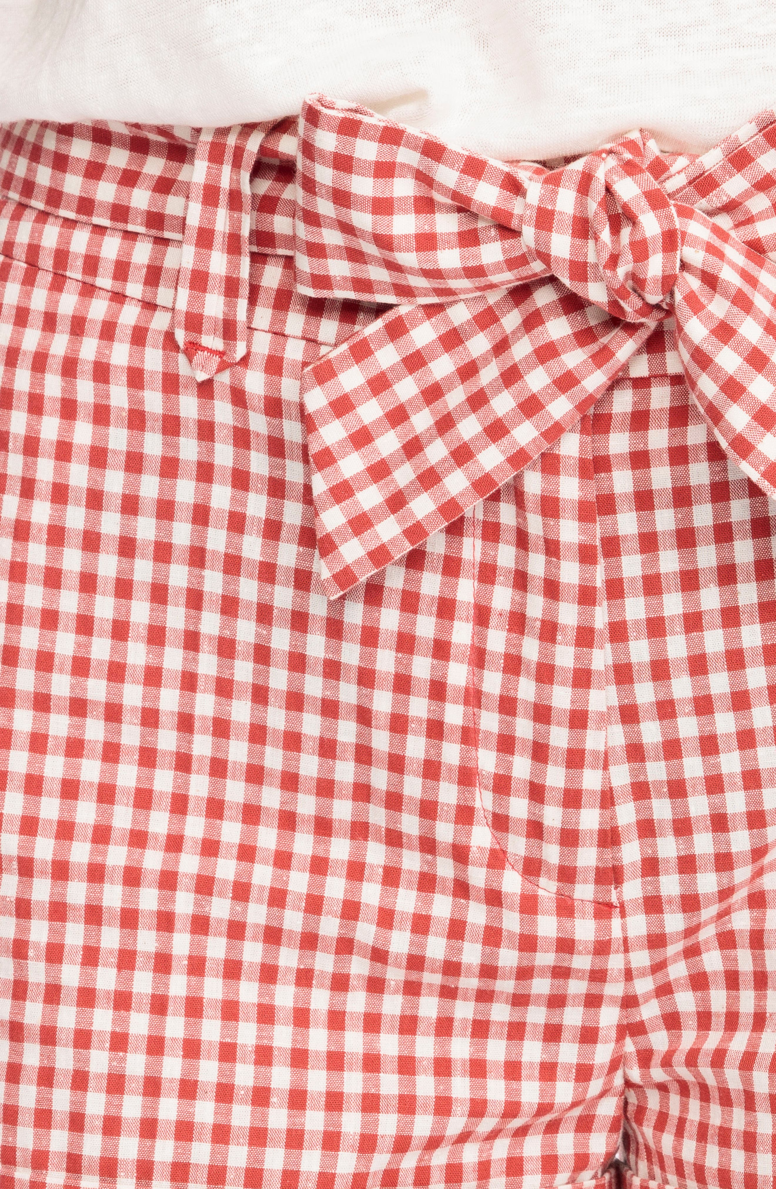 Alternate Image 5  - Sézane Giovanni Gingham Shorts