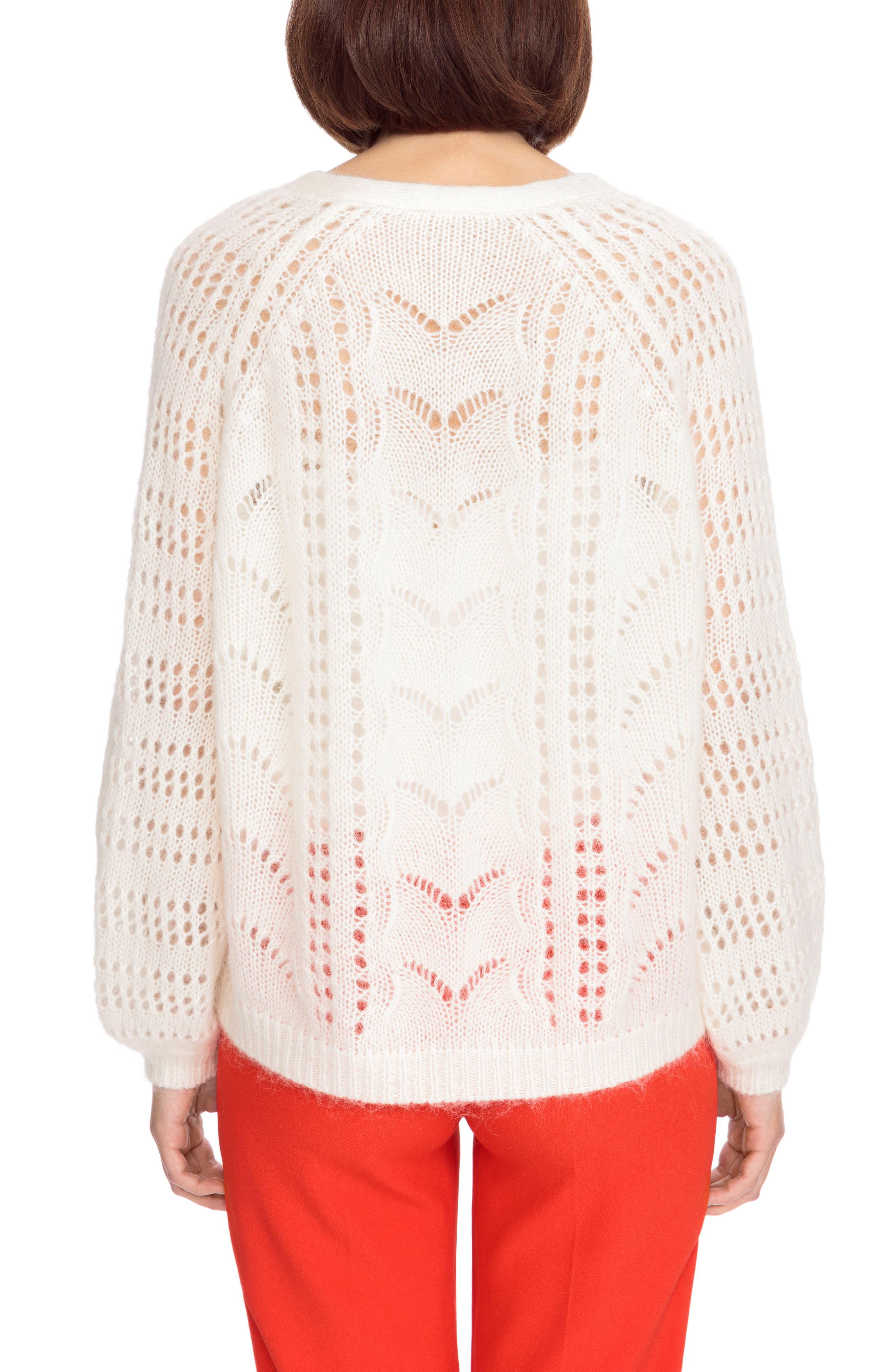 Dereck Cardigan,                             Alternate thumbnail 3, color,                             Off White