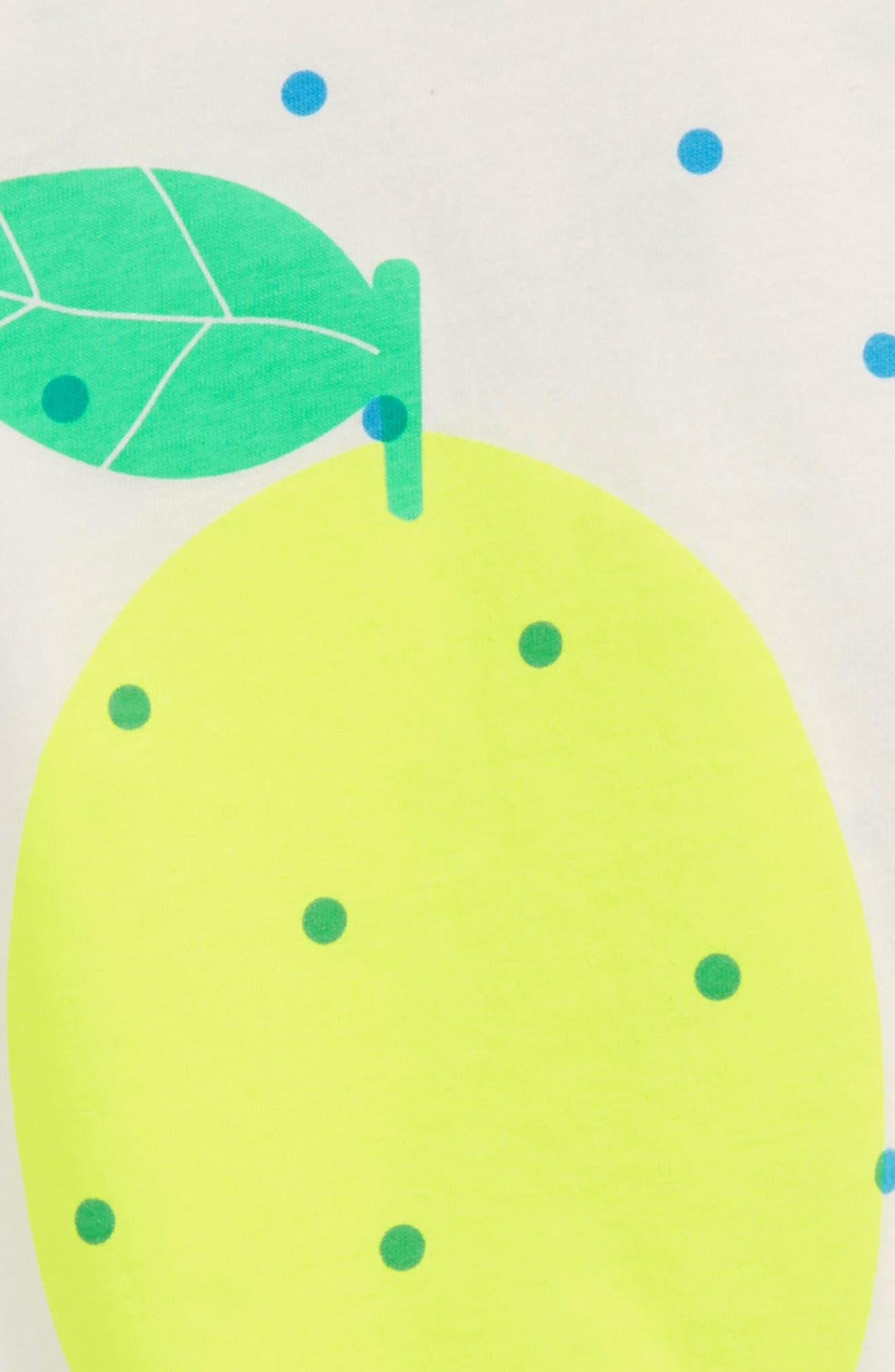 Bright Lemon Tee,                             Alternate thumbnail 2, color,                             Ivory/ Sail Confetti Spot Ivo