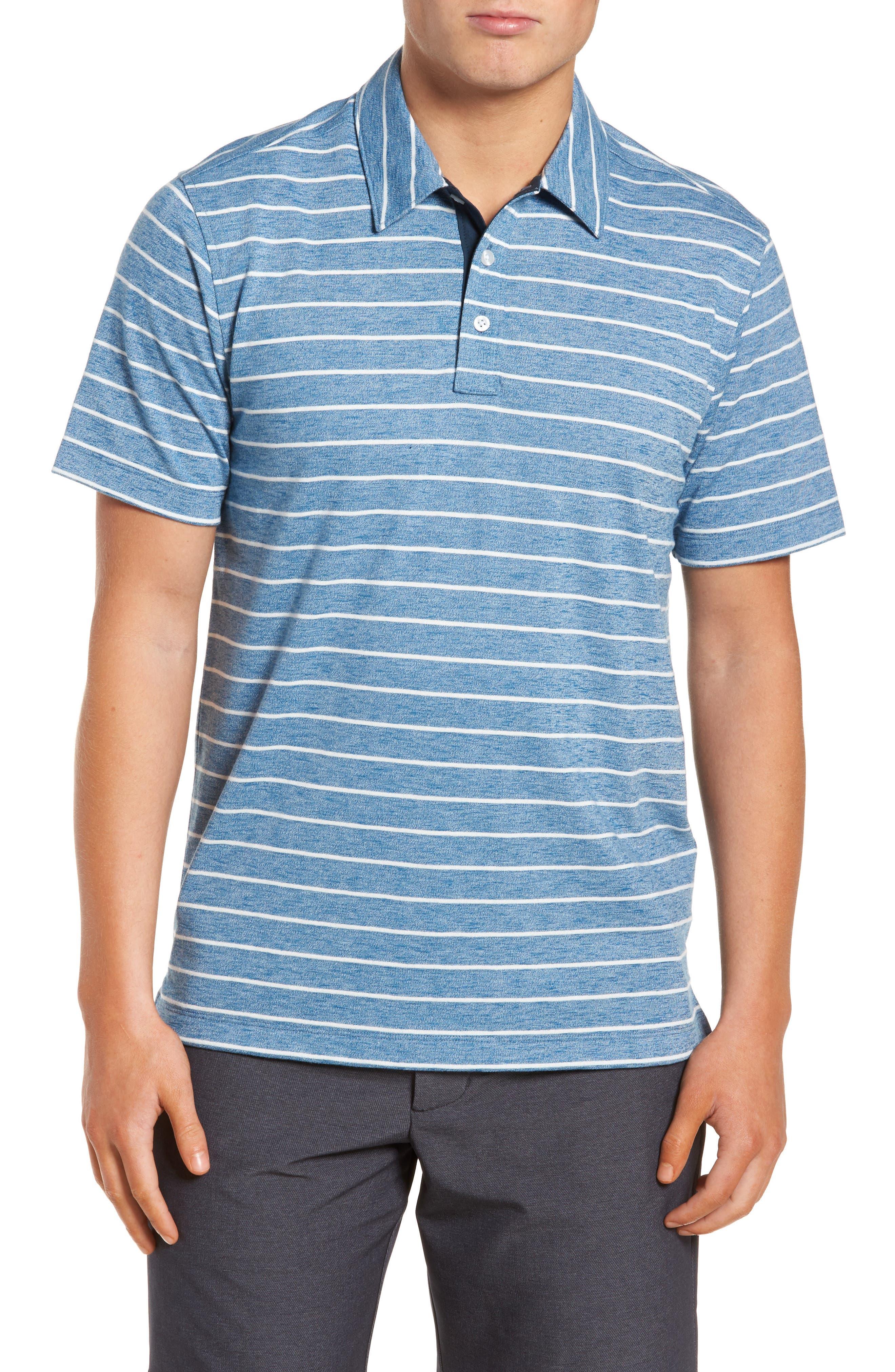 Nordstrom Men's Shop Stripe Polo (Big & Tall)