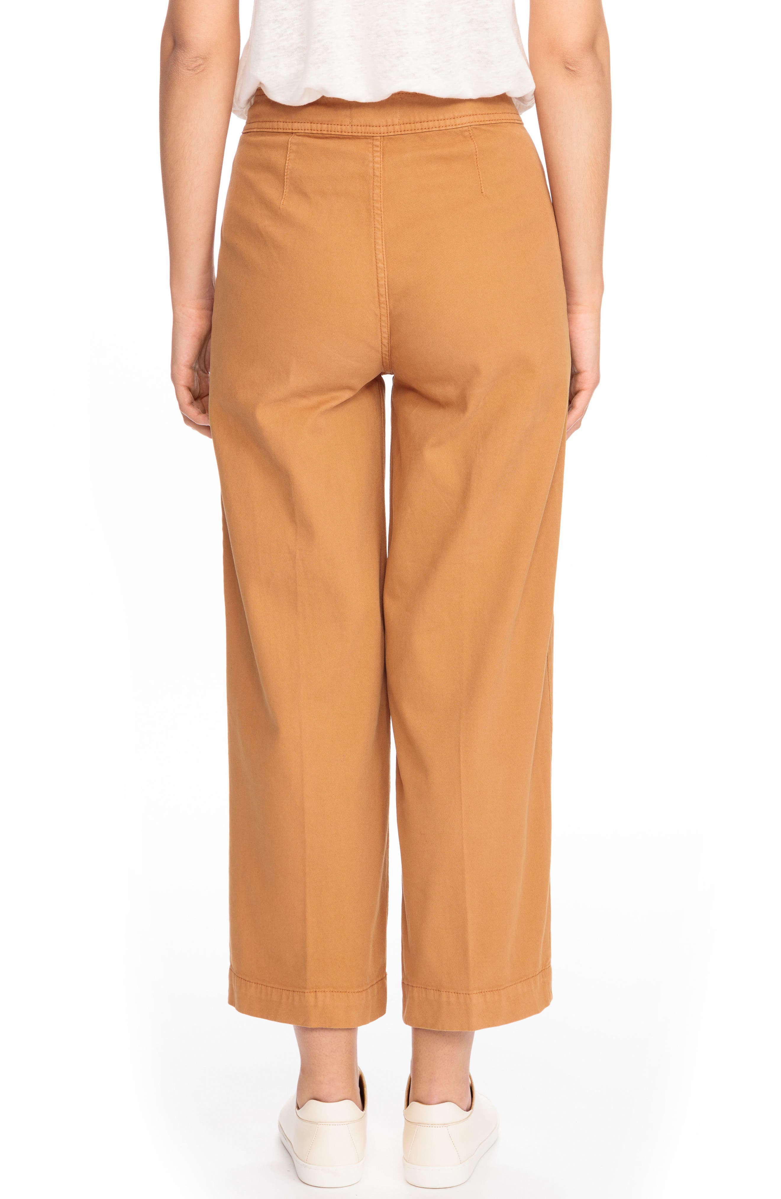 June Crop Pants,                             Alternate thumbnail 3, color,                             Ocre
