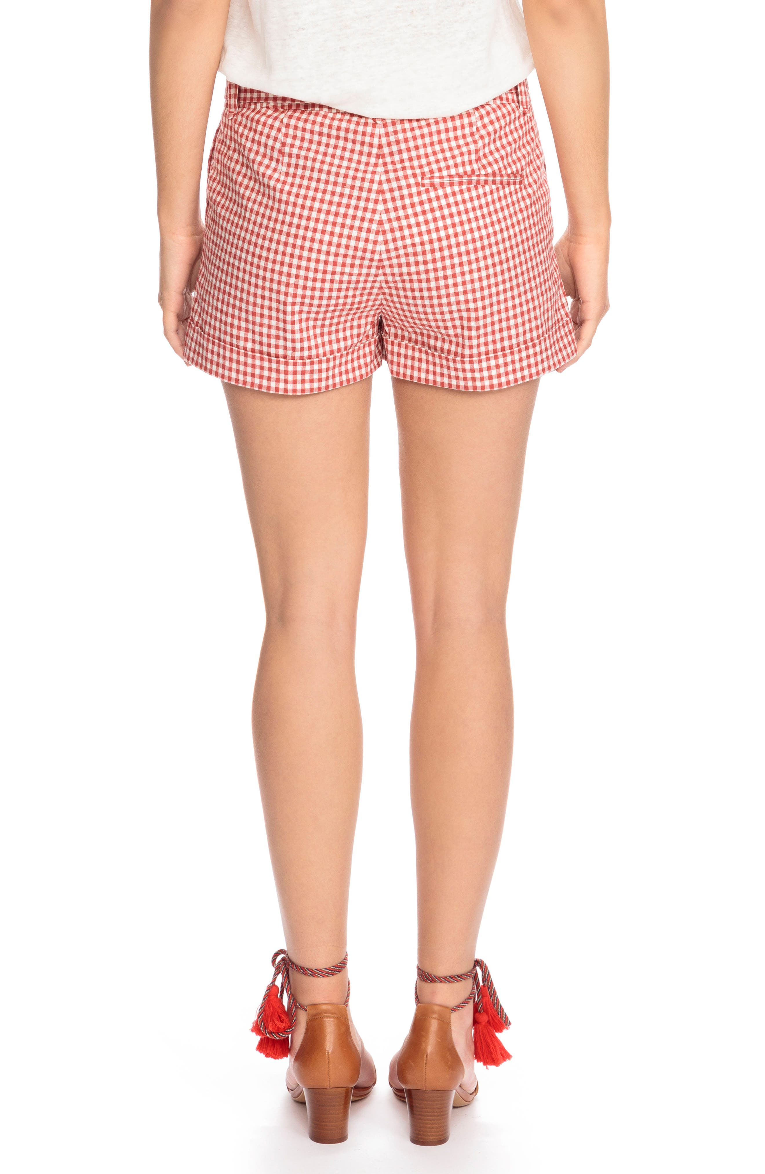 Alternate Image 3  - Sézane Giovanni Gingham Shorts