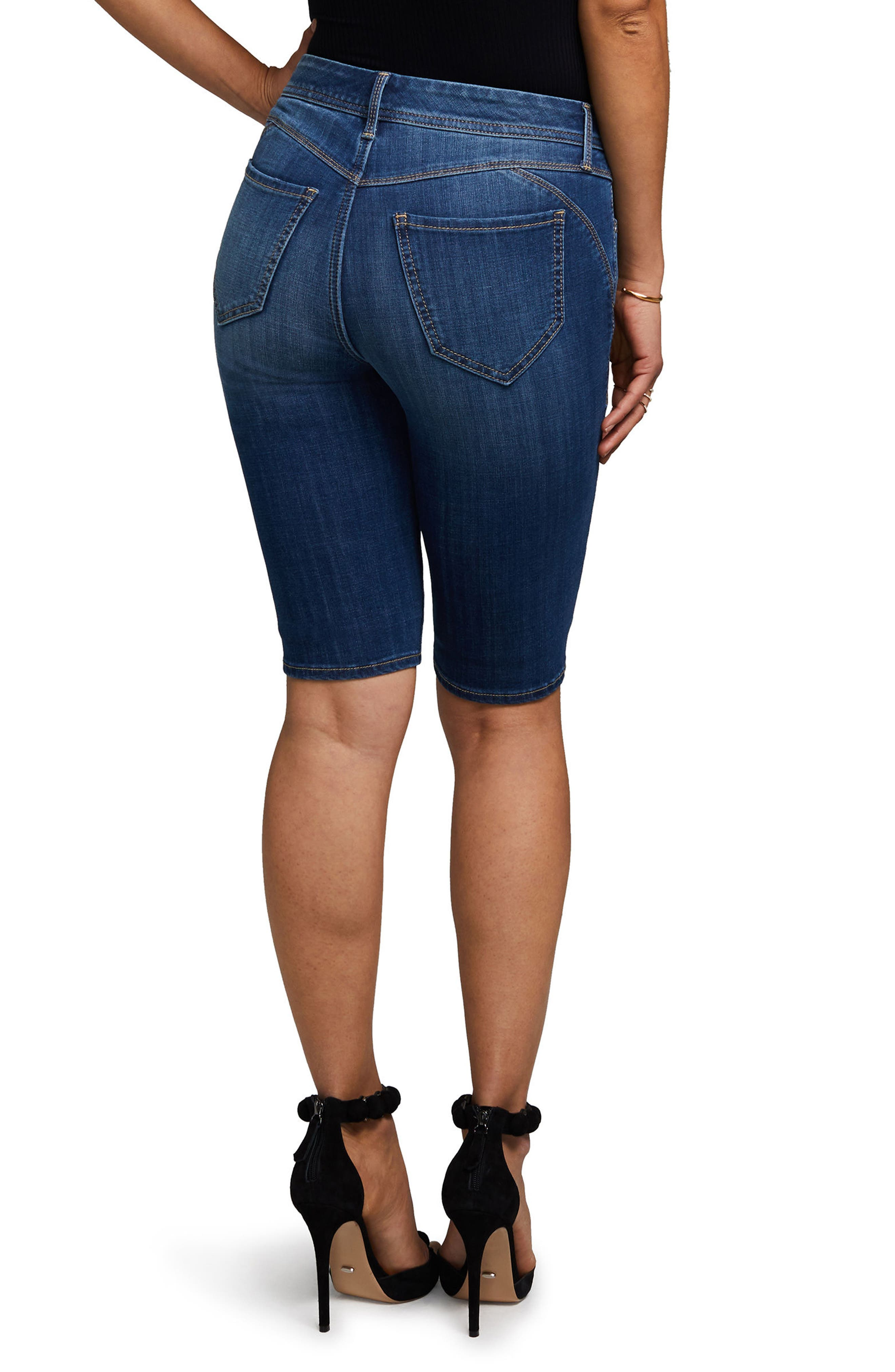 Boost Skinny Shorts,                             Alternate thumbnail 2, color,                             Carya