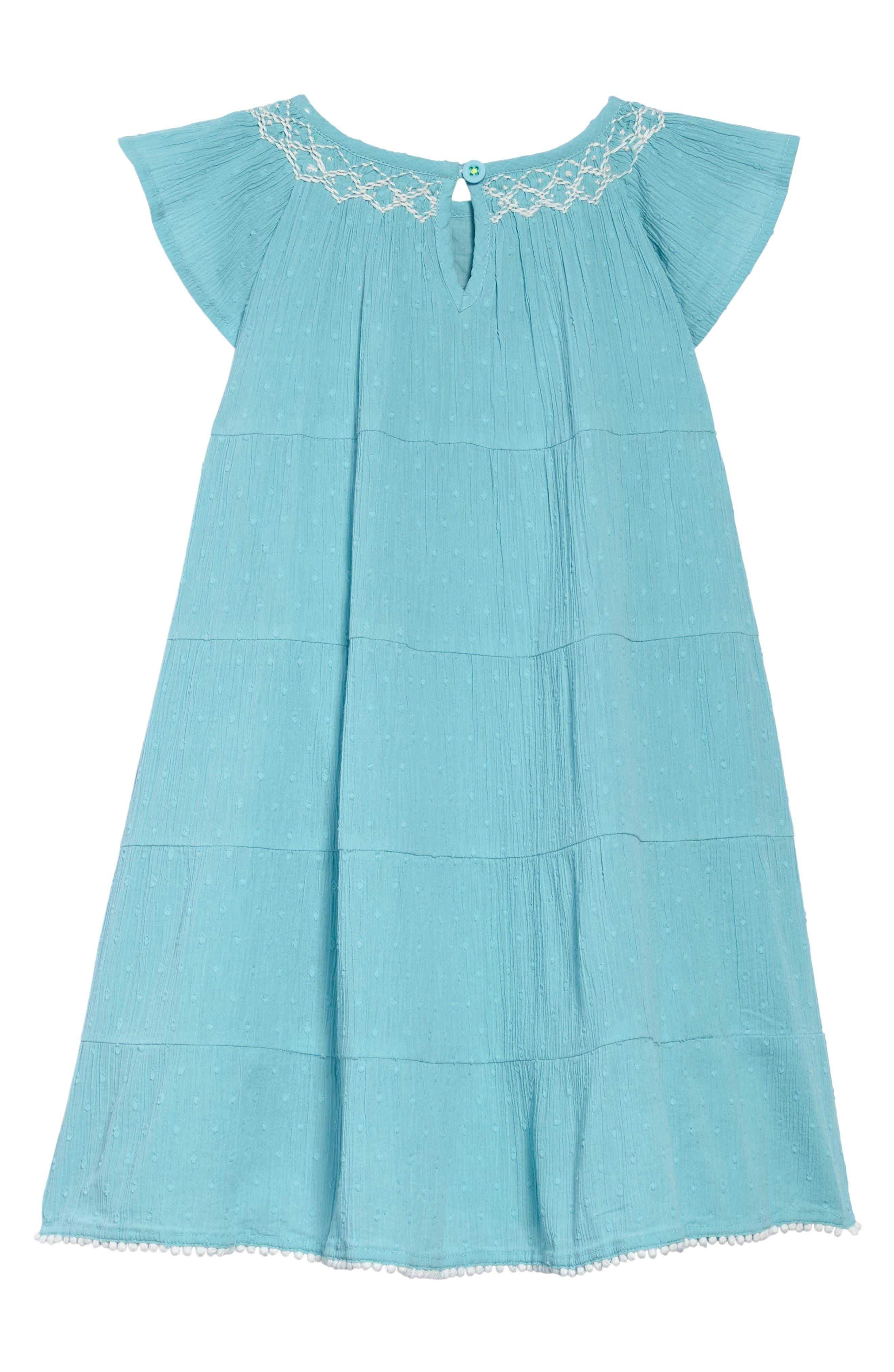 Twirly Dress,                             Alternate thumbnail 2, color,                             Camper Blue Blu