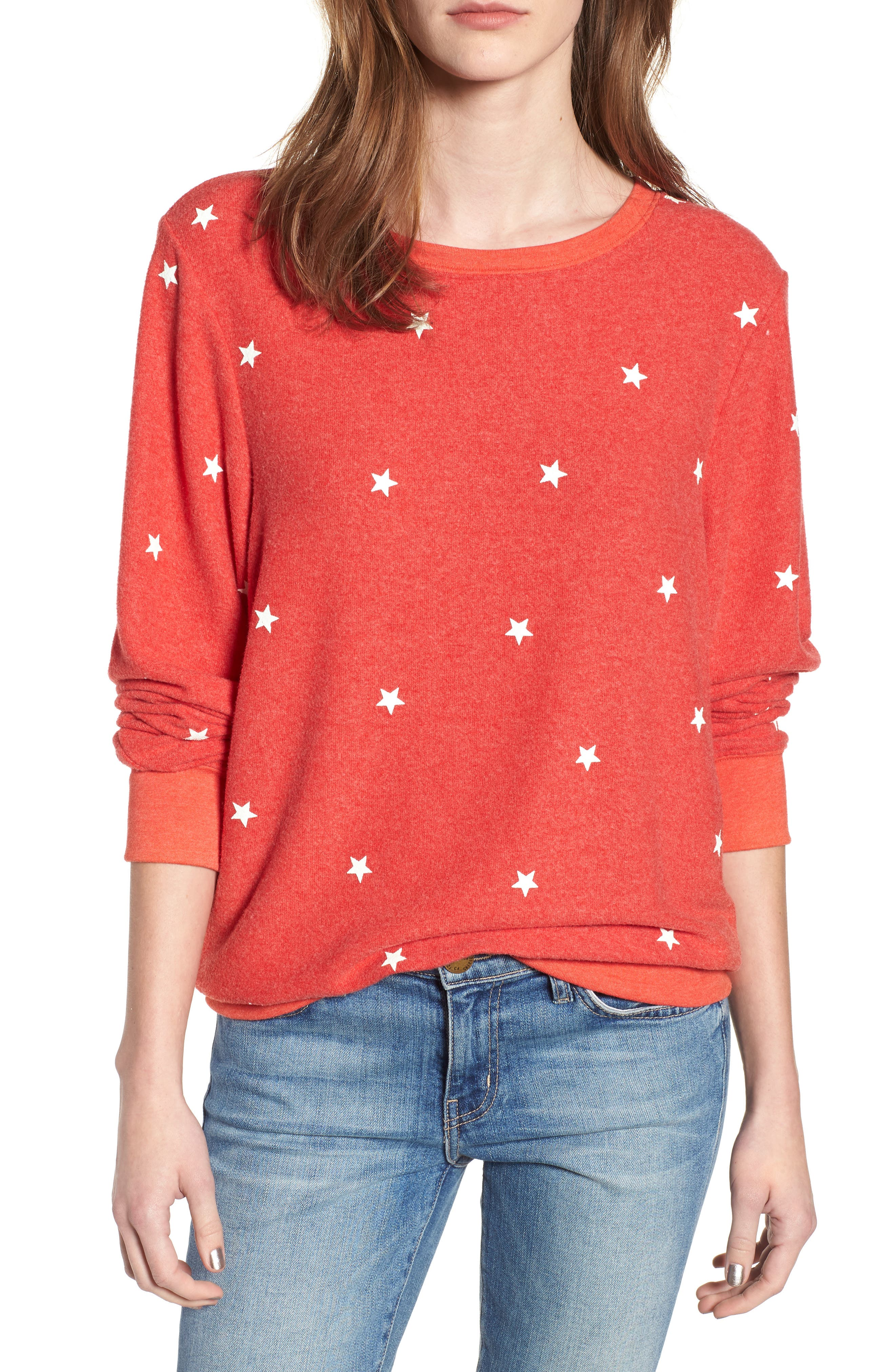 Star Baggy Beach Pullover by Wildfox