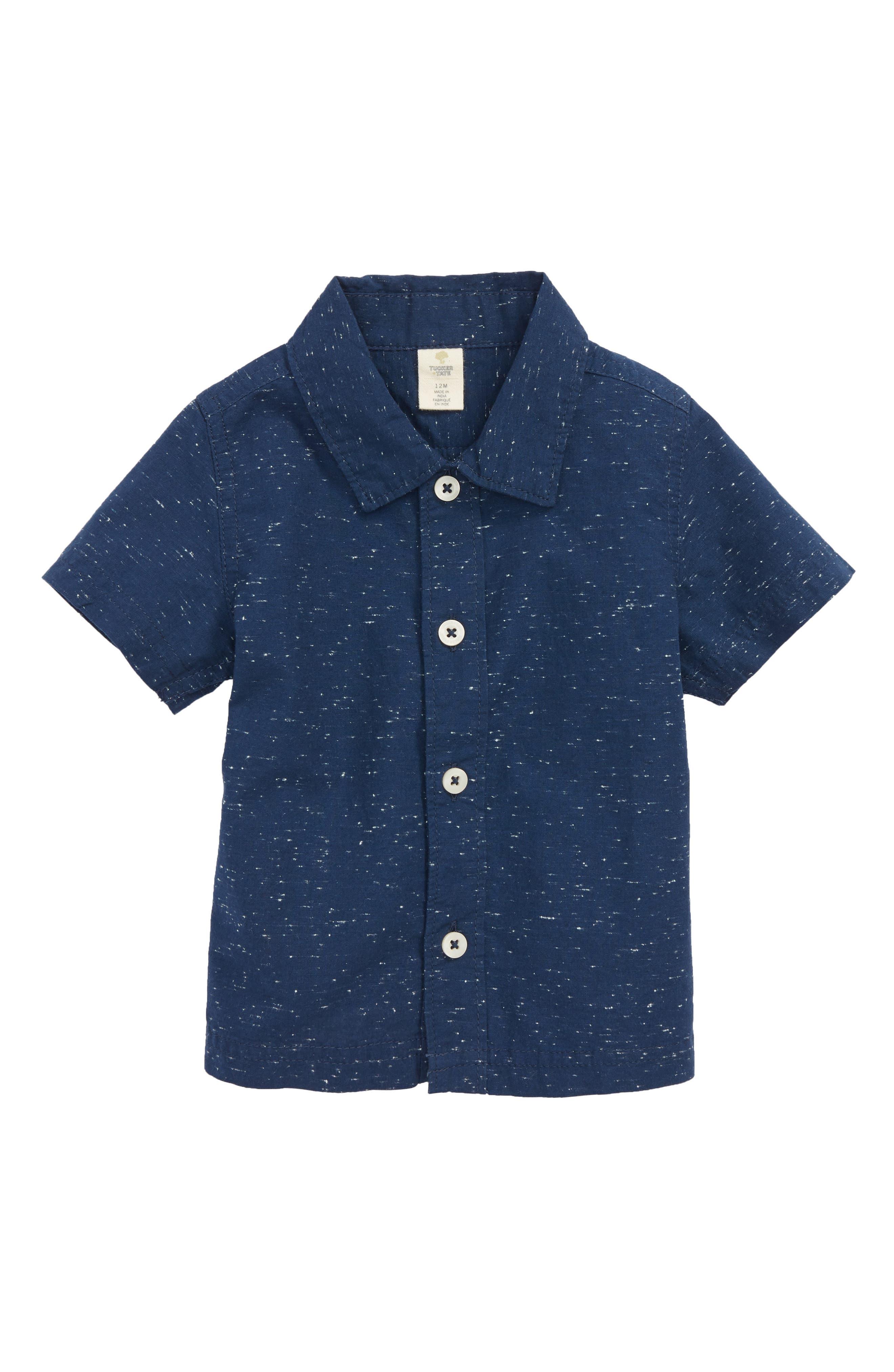 Tucker + Tate Slub Woven Shirt (Baby Boys)