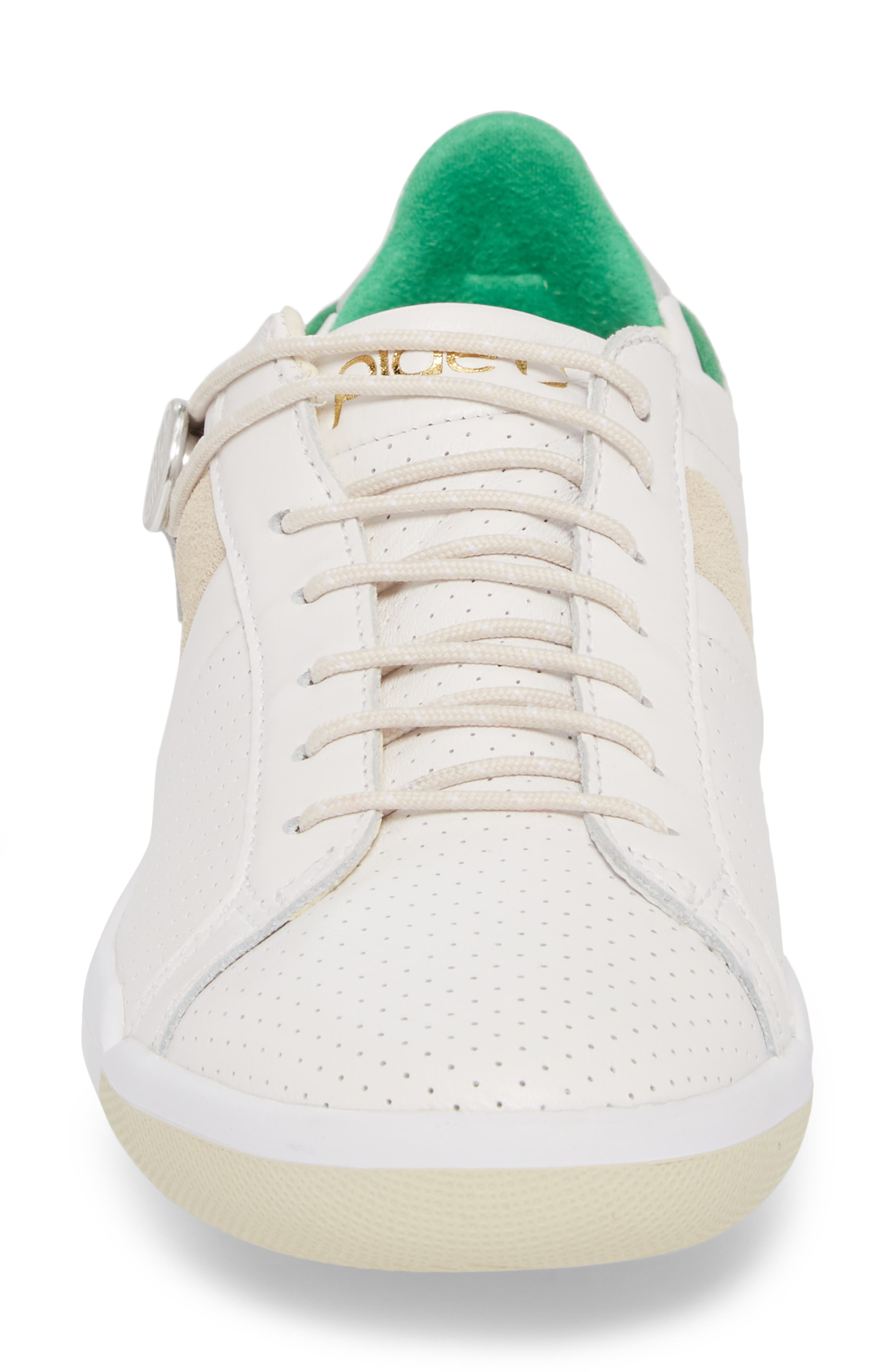Mulberry Sneaker,                             Alternate thumbnail 4, color,                             White Leather