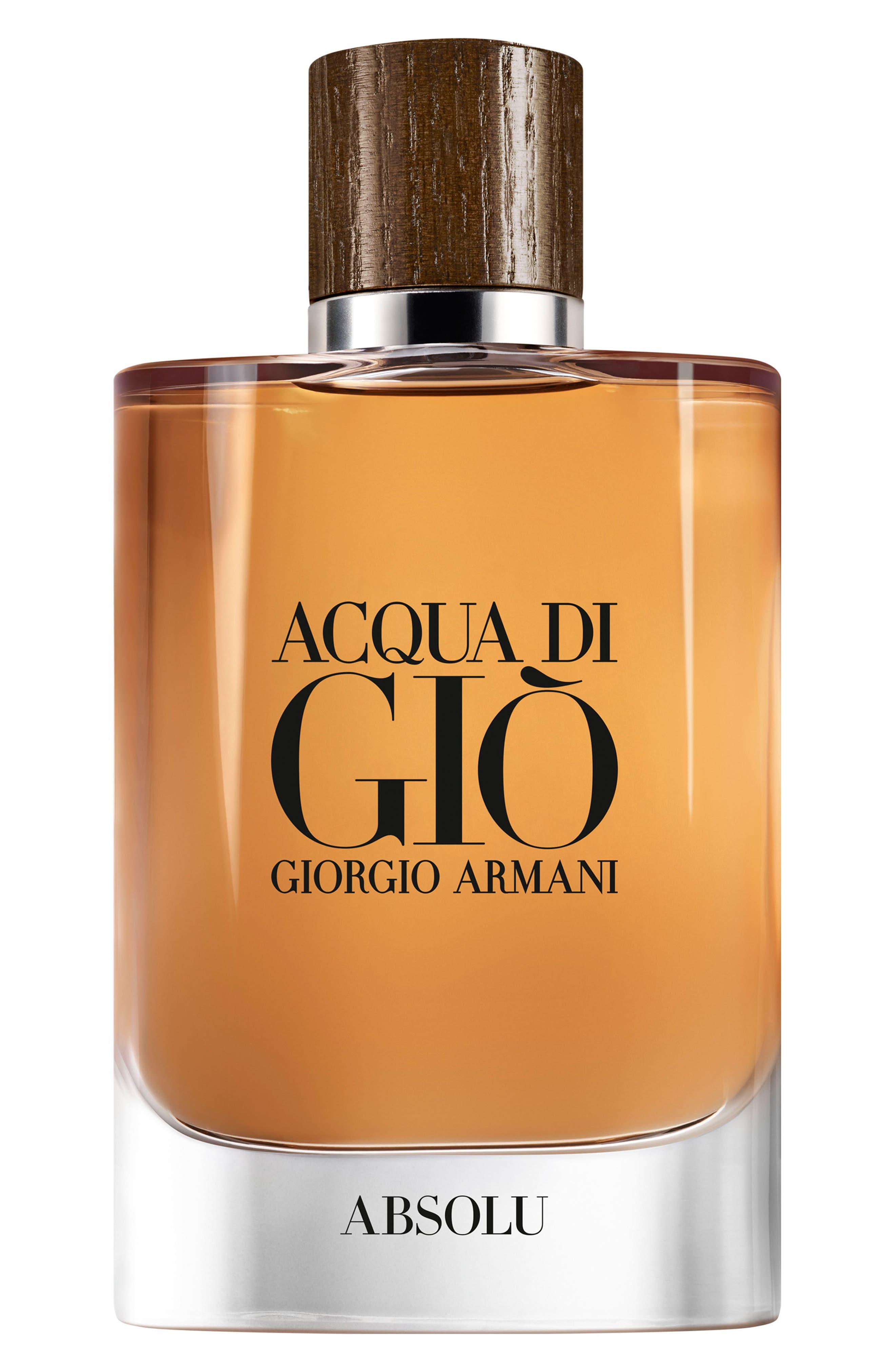 Acqua di Giò Absolu Eau de Parfum,                             Main thumbnail 1, color,                             No Color