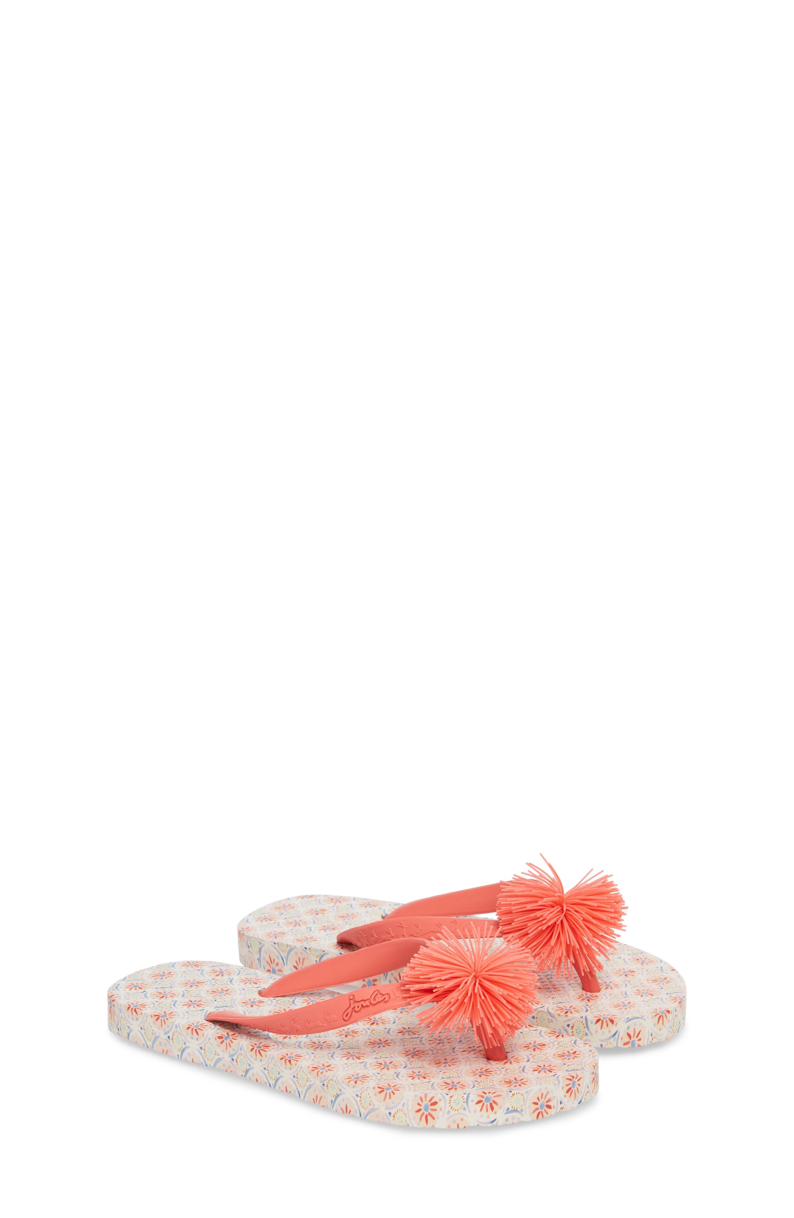 Flip Flop,                             Alternate thumbnail 2, color,                             Cream Summer Mosaic