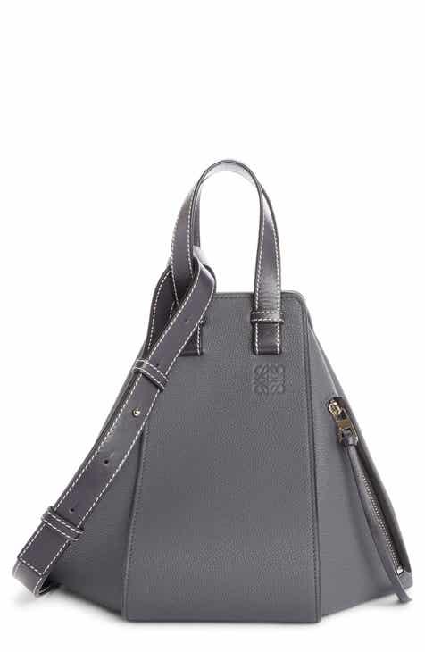 d1a2d61d1da Loewe Small Hammock Pebbled Leather Hobo