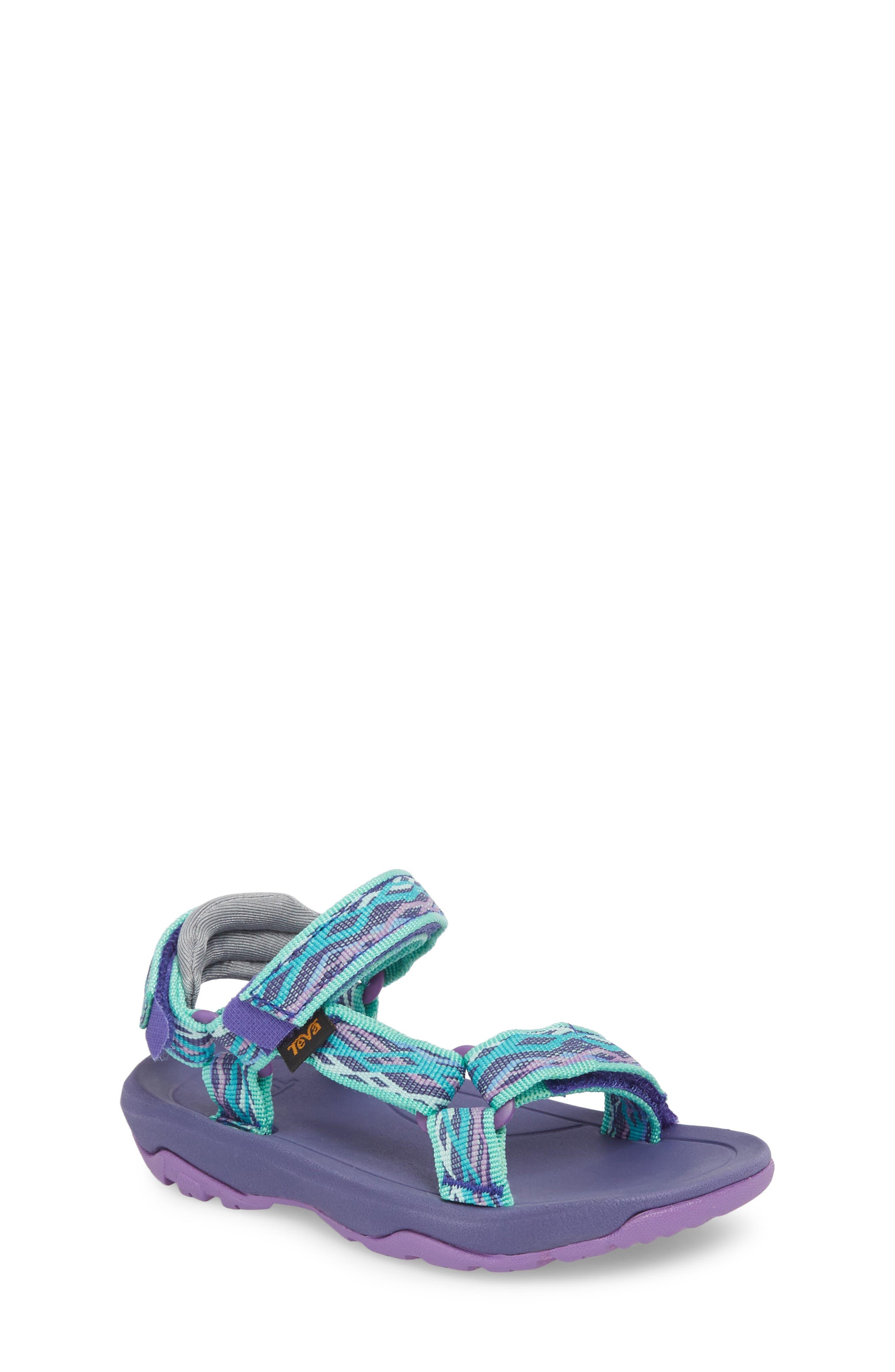 Hurricane XLT 2 Sandal,                         Main,                         color, Delmar Sea Glass / Purple