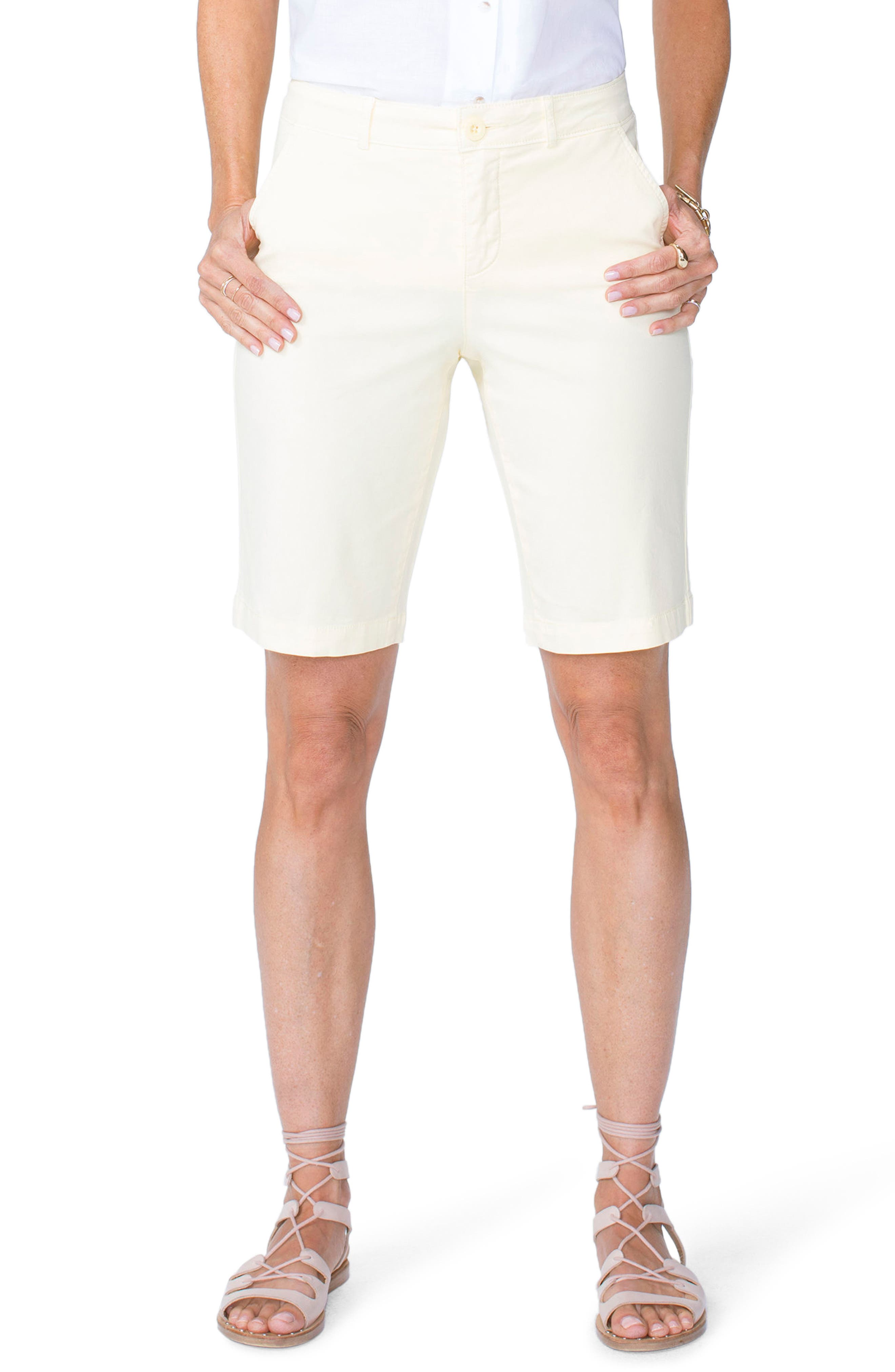 Alternate Image 1 Selected - NYDJ Stretch Twill Bermuda Shorts