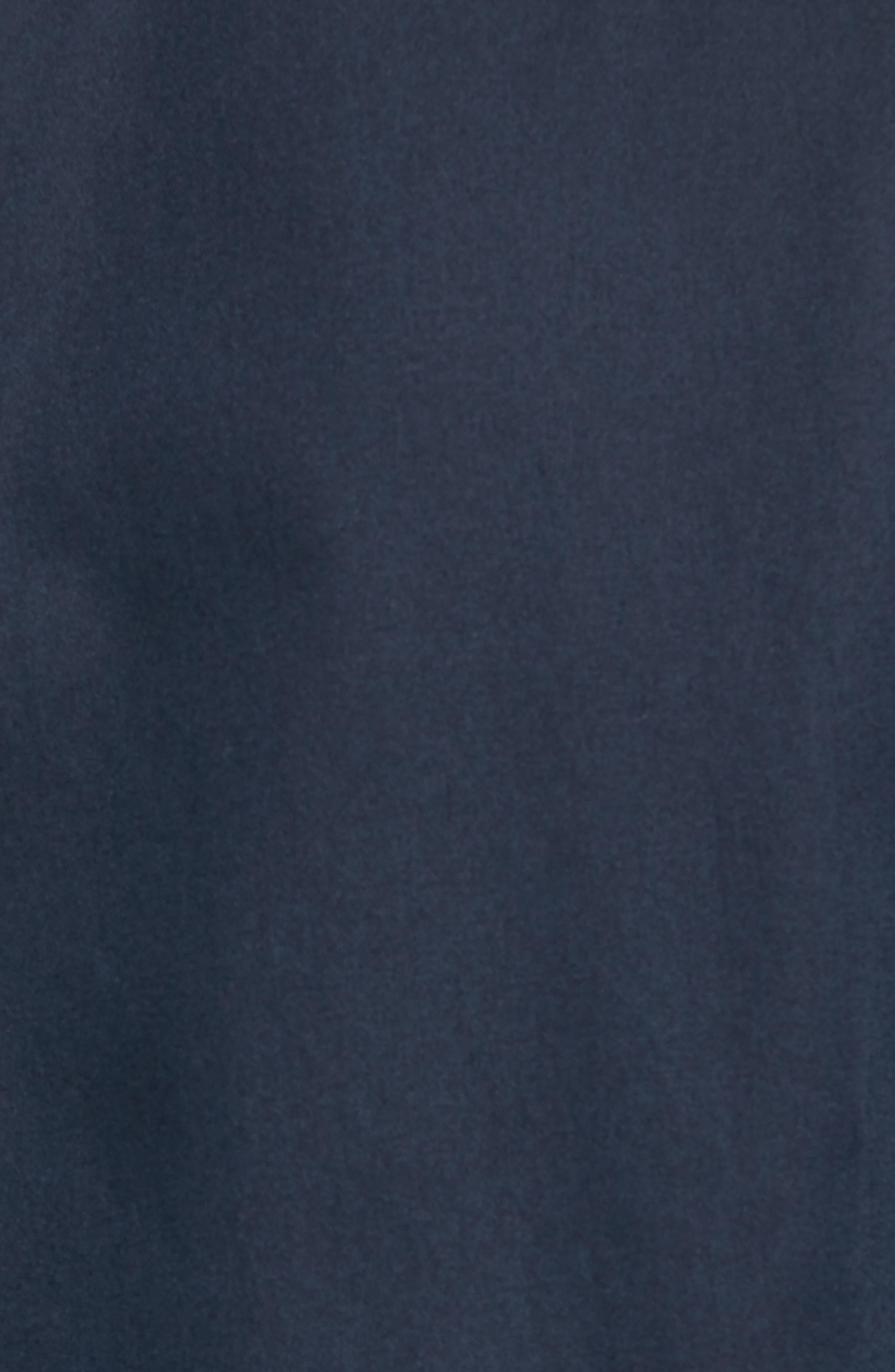 Byllytt Extra Slim Fit Stretch Solid Sport Shirt,                             Alternate thumbnail 5, color,                             Navy