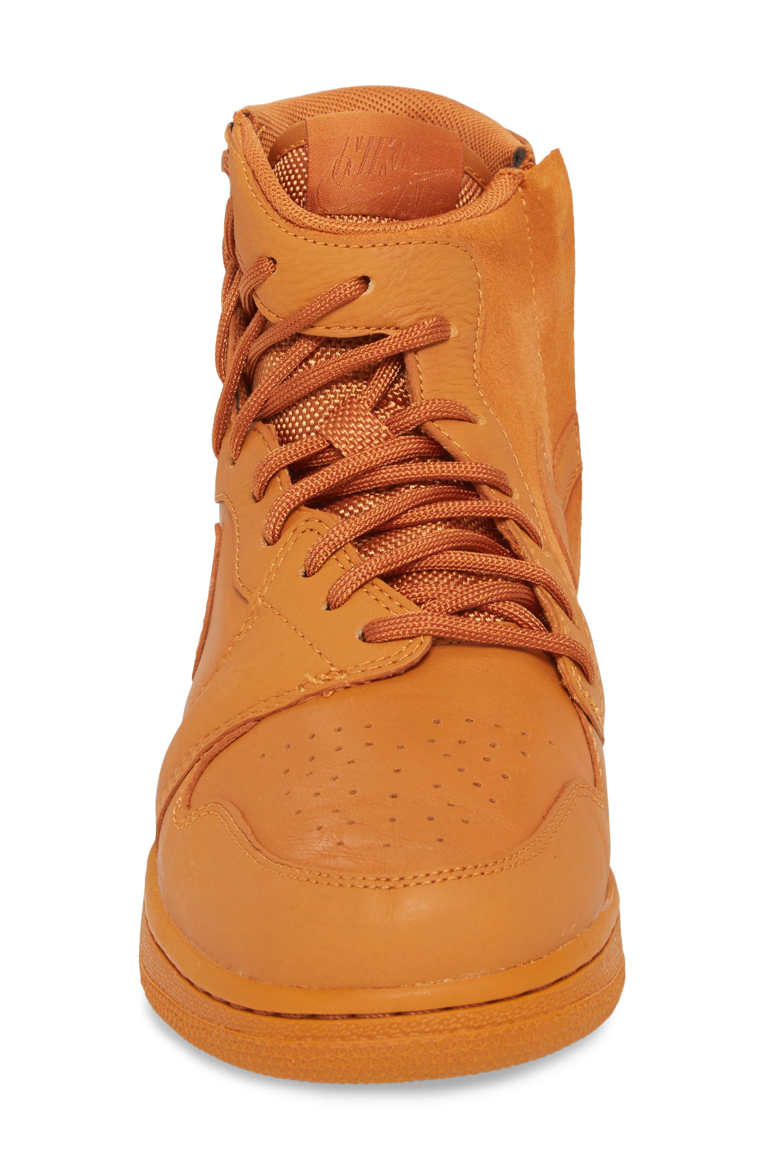 Air Jordan 1 Rebel XX High Top Sneaker,                             Alternate thumbnail 4, color,                             Cinder Orange