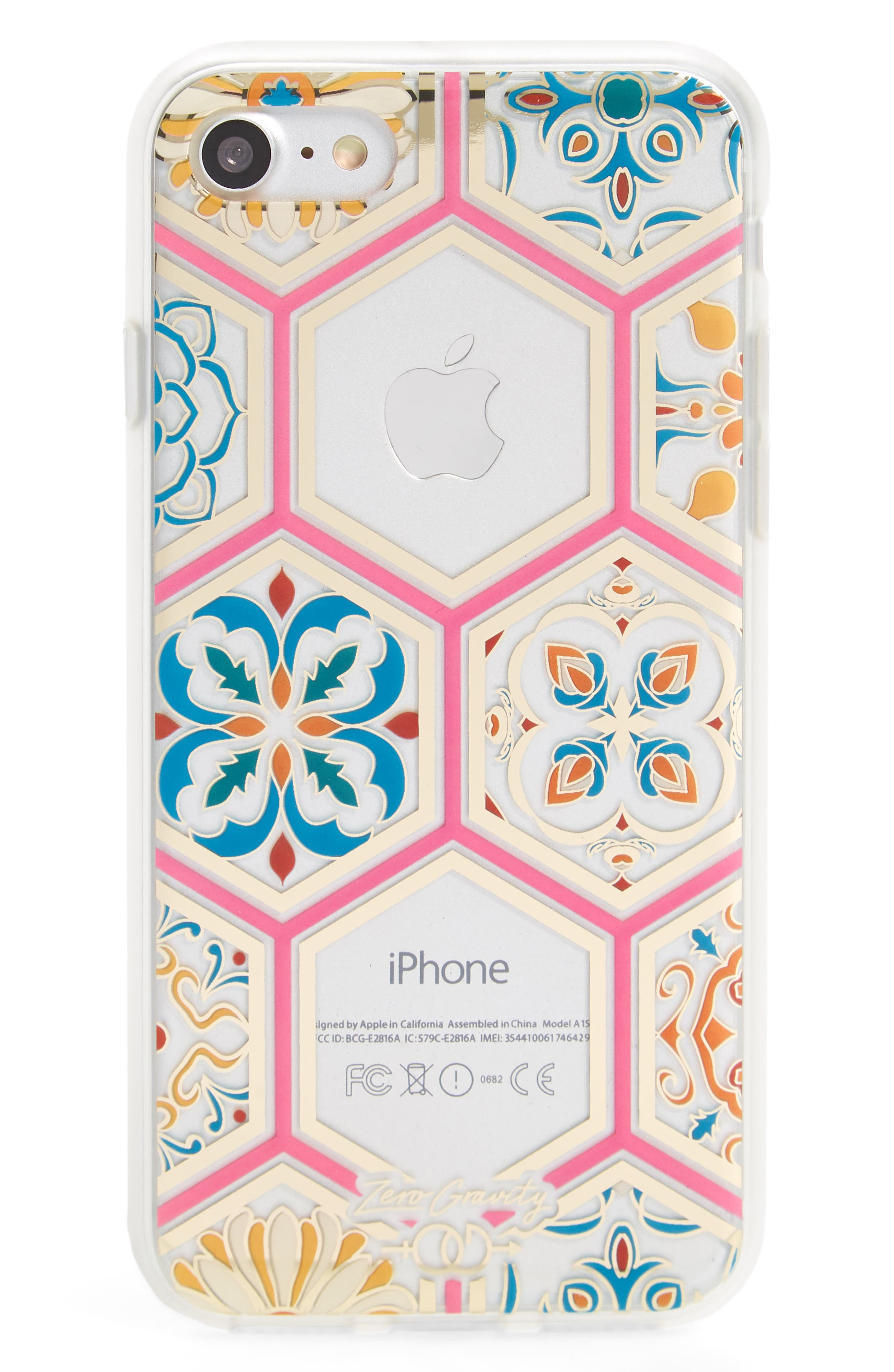 Imperial iPhone 7/8 & 7/8 Plus Case,                             Main thumbnail 1, color,                             Clear Multi