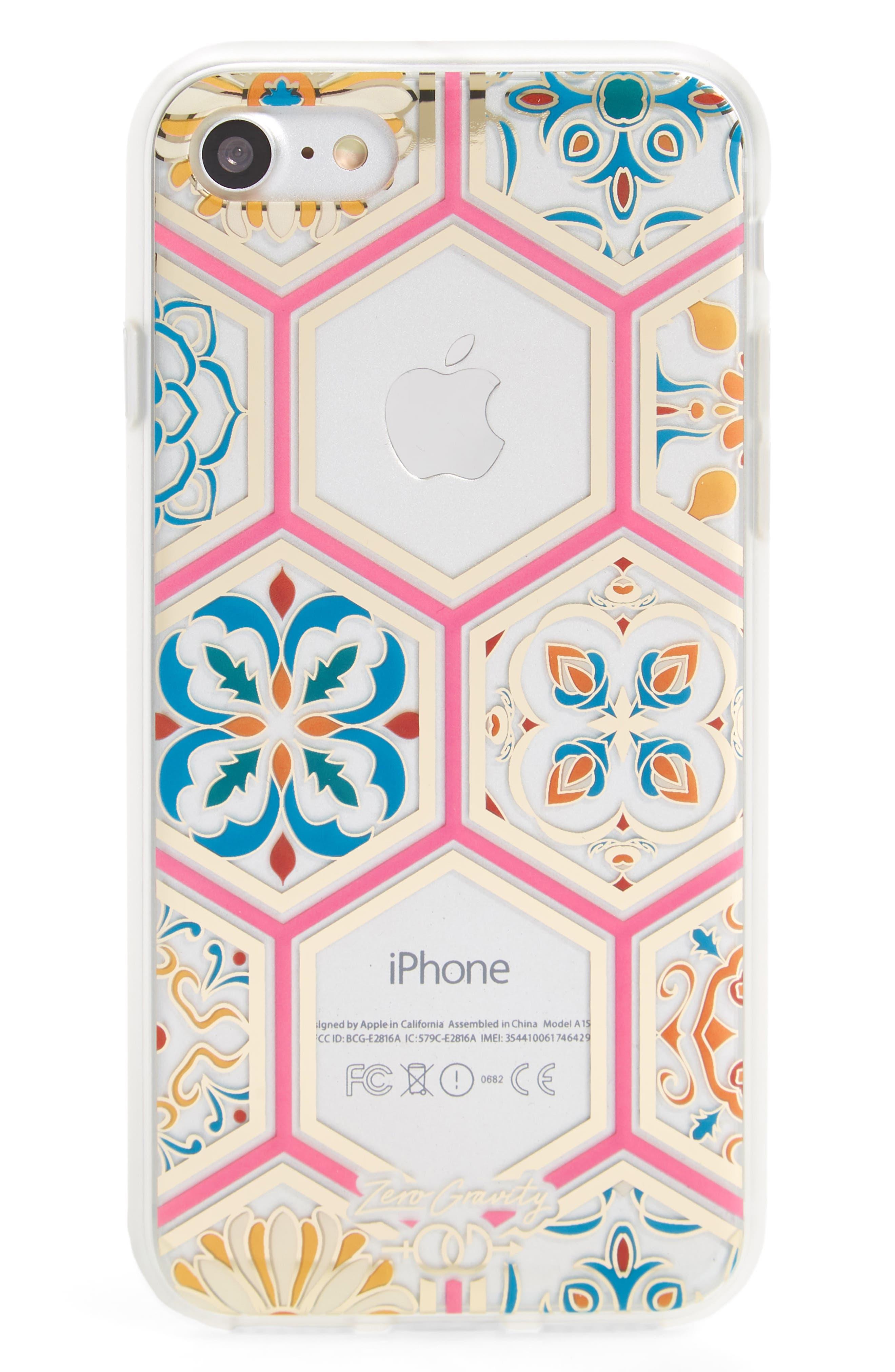 Imperial iPhone 7/8 & 7/8 Plus Case,                         Main,                         color, Clear Multi