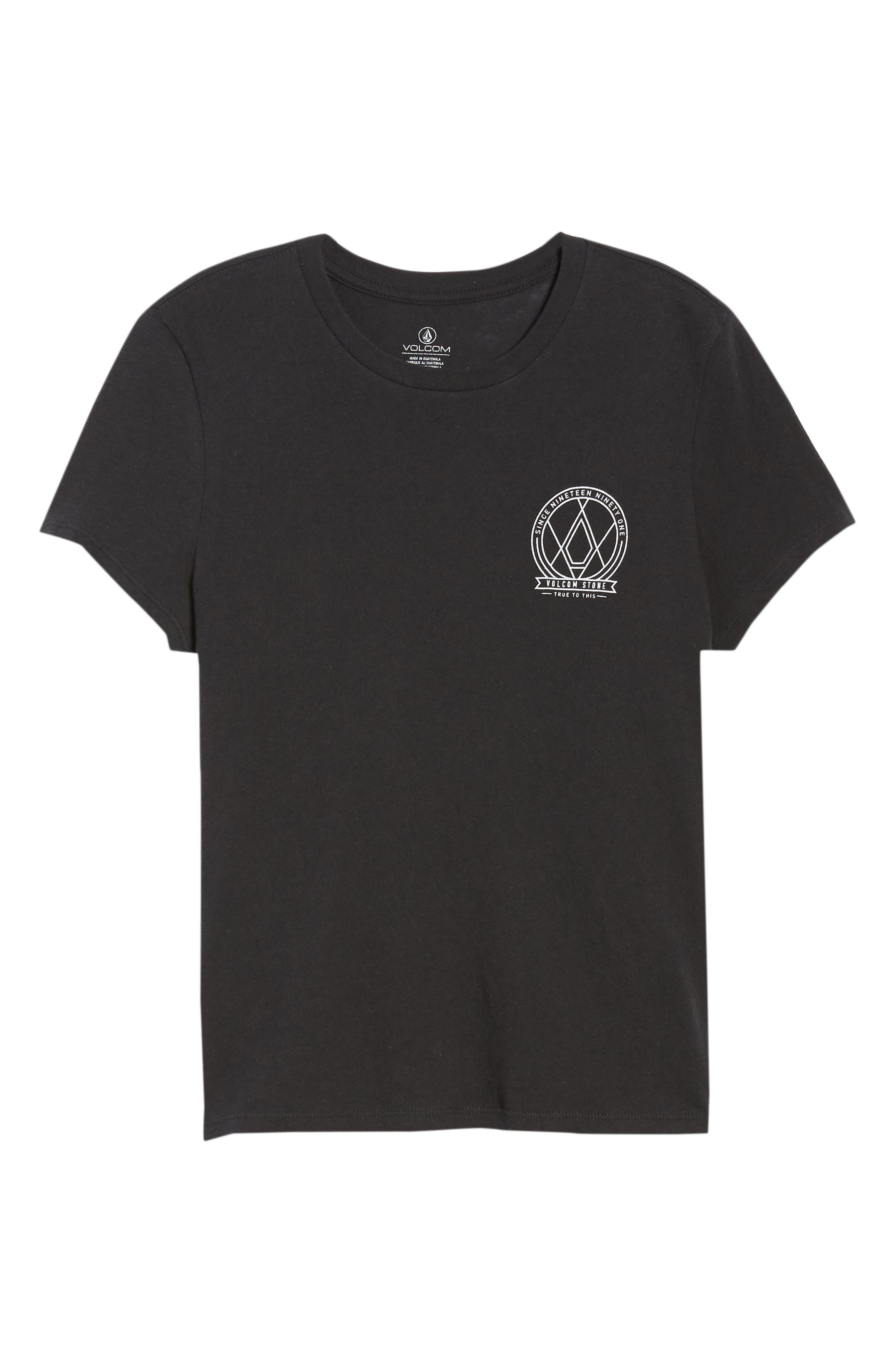Day Everyday Tee,                             Alternate thumbnail 7, color,                             Black