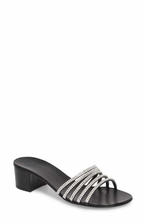 1fb9aaa406e9 Giuseppe Zanotti Swarovski Crystal Slide Sandal (Women)