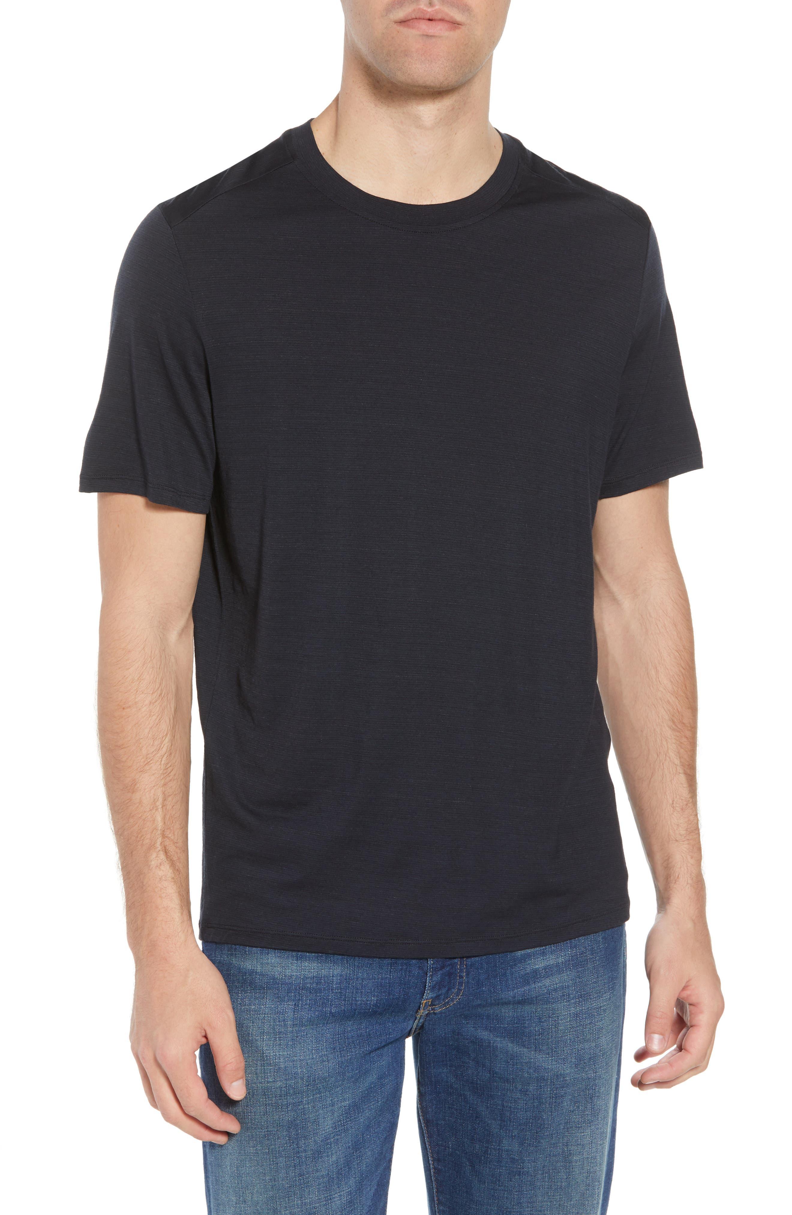 Merino 150 Wool Blend T-Shirt,                         Main,                         color, Charcoal