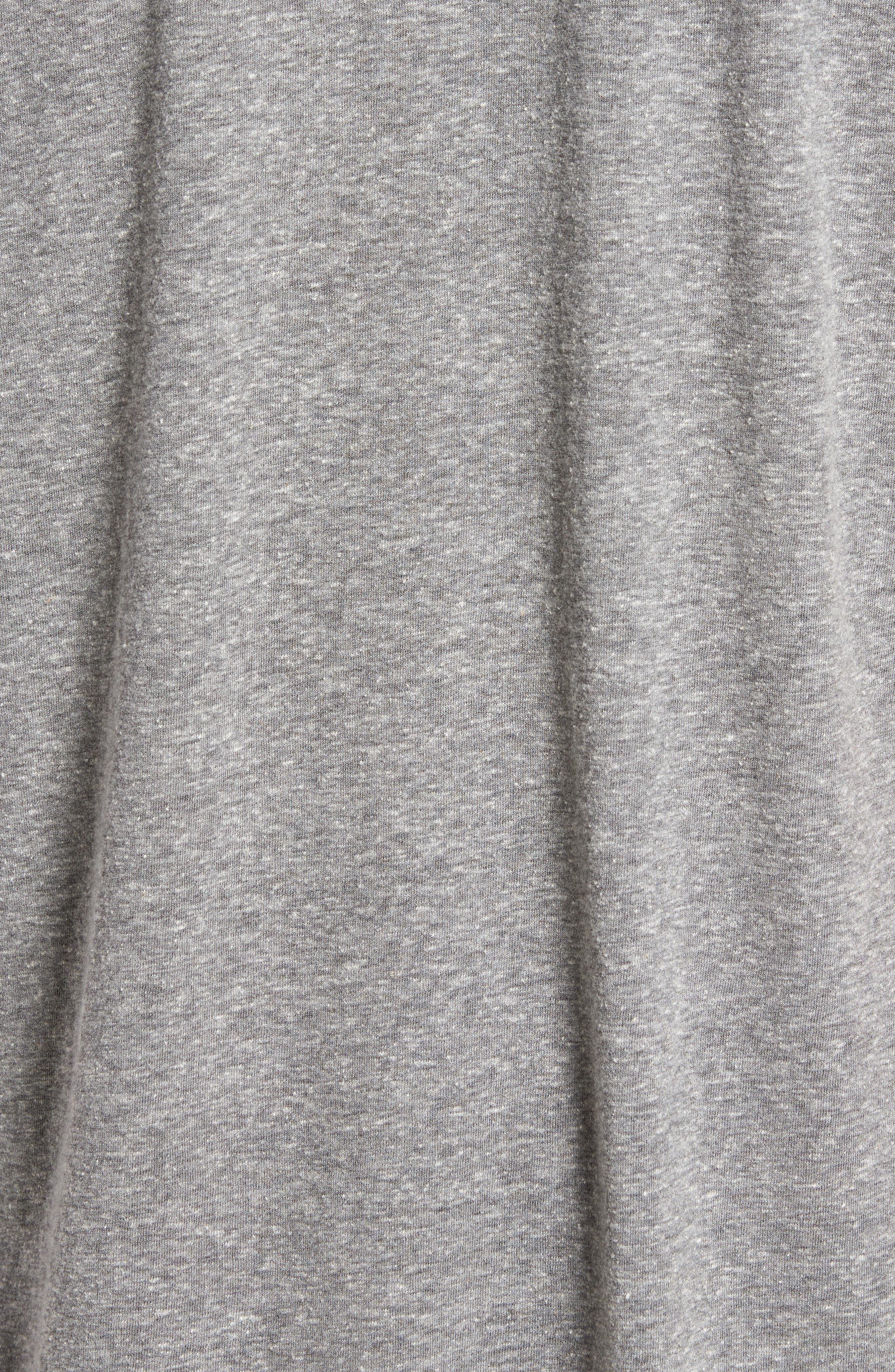 Original Retro Brand Silver Bullet Graphic T-Shirt,                             Alternate thumbnail 5, color,                             Streaky Grey