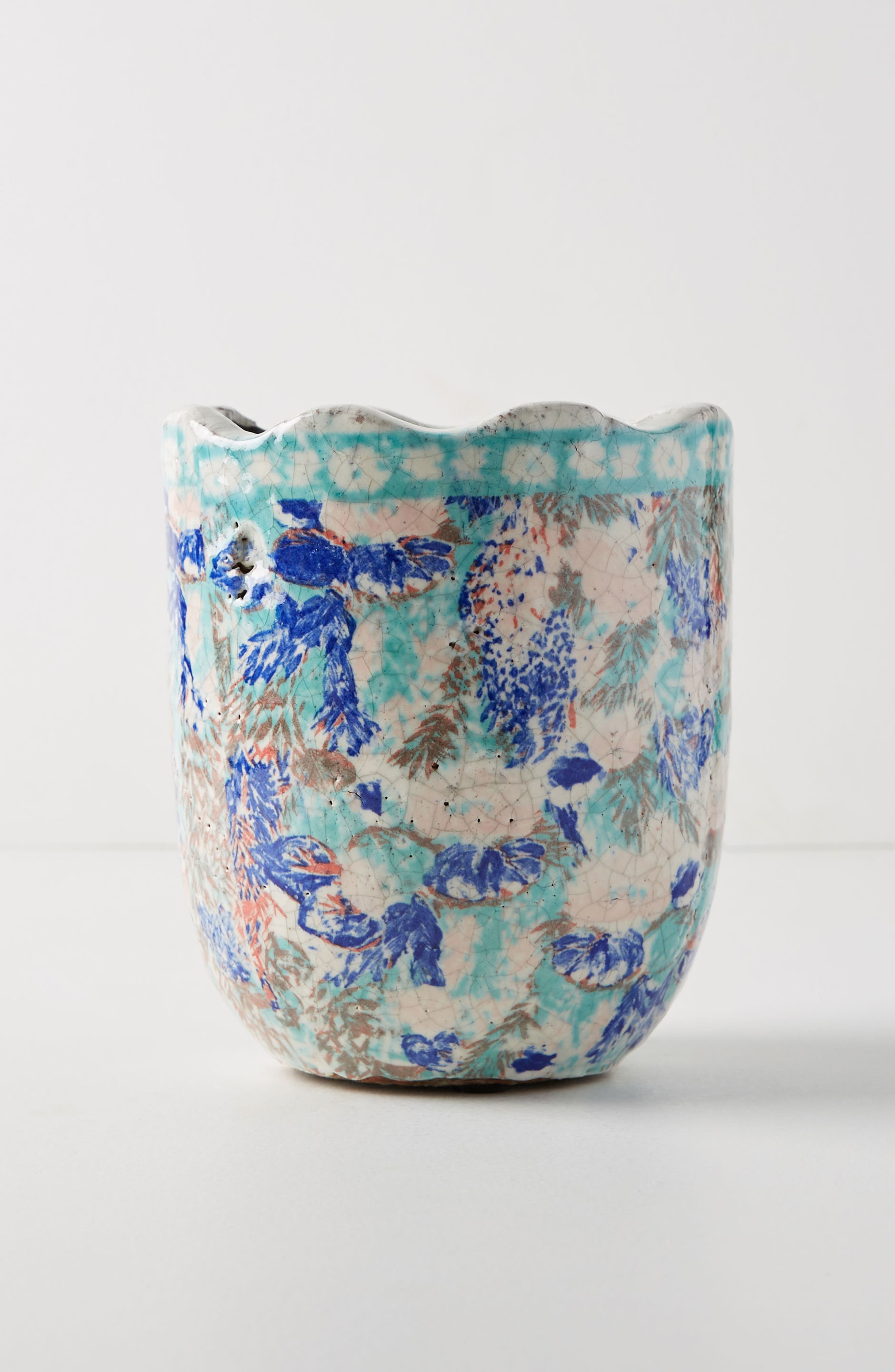 Bismark Garden Pot,                         Main,                         color, Navy