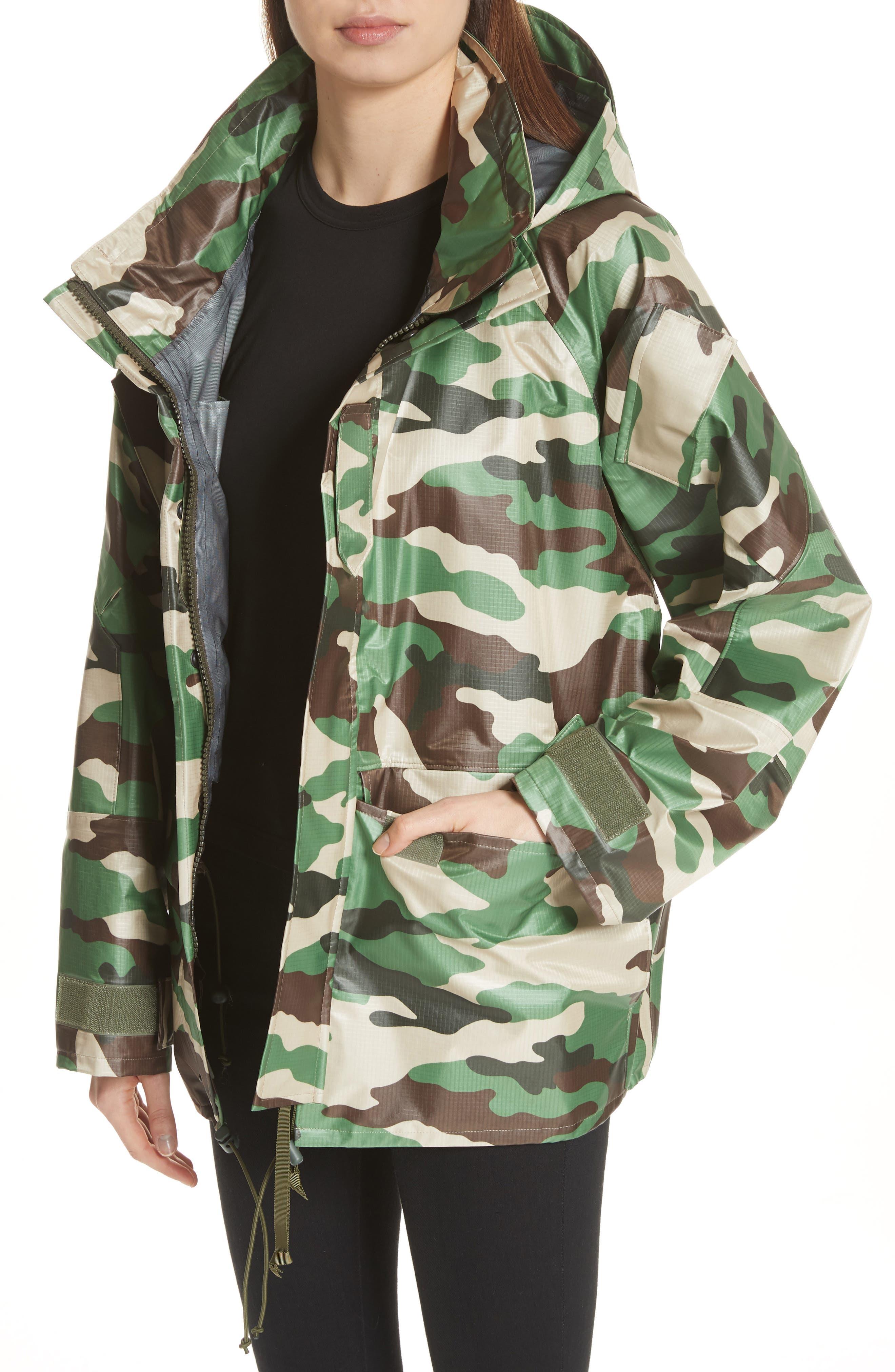 Alternate Image 4  - Junya Watanabe Camo Nylon Jacket
