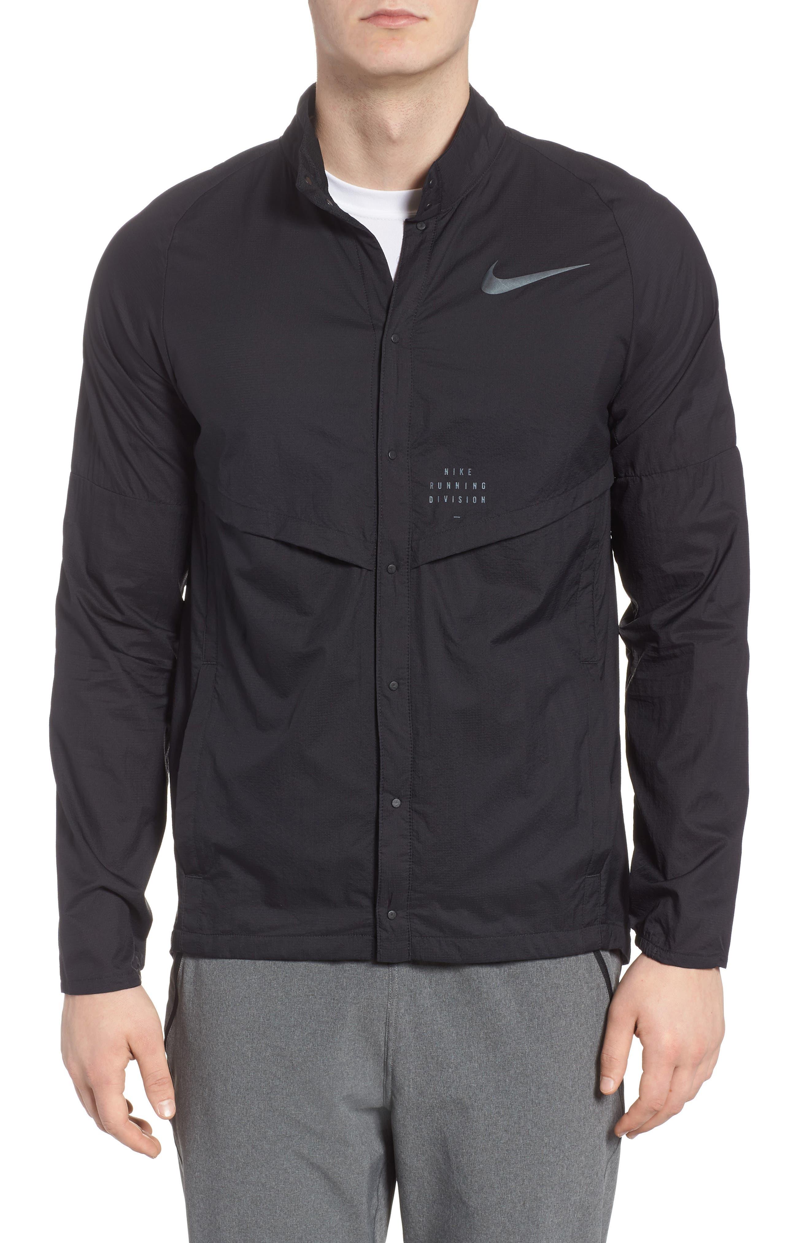 Run Division Jacket,                         Main,                         color, Black