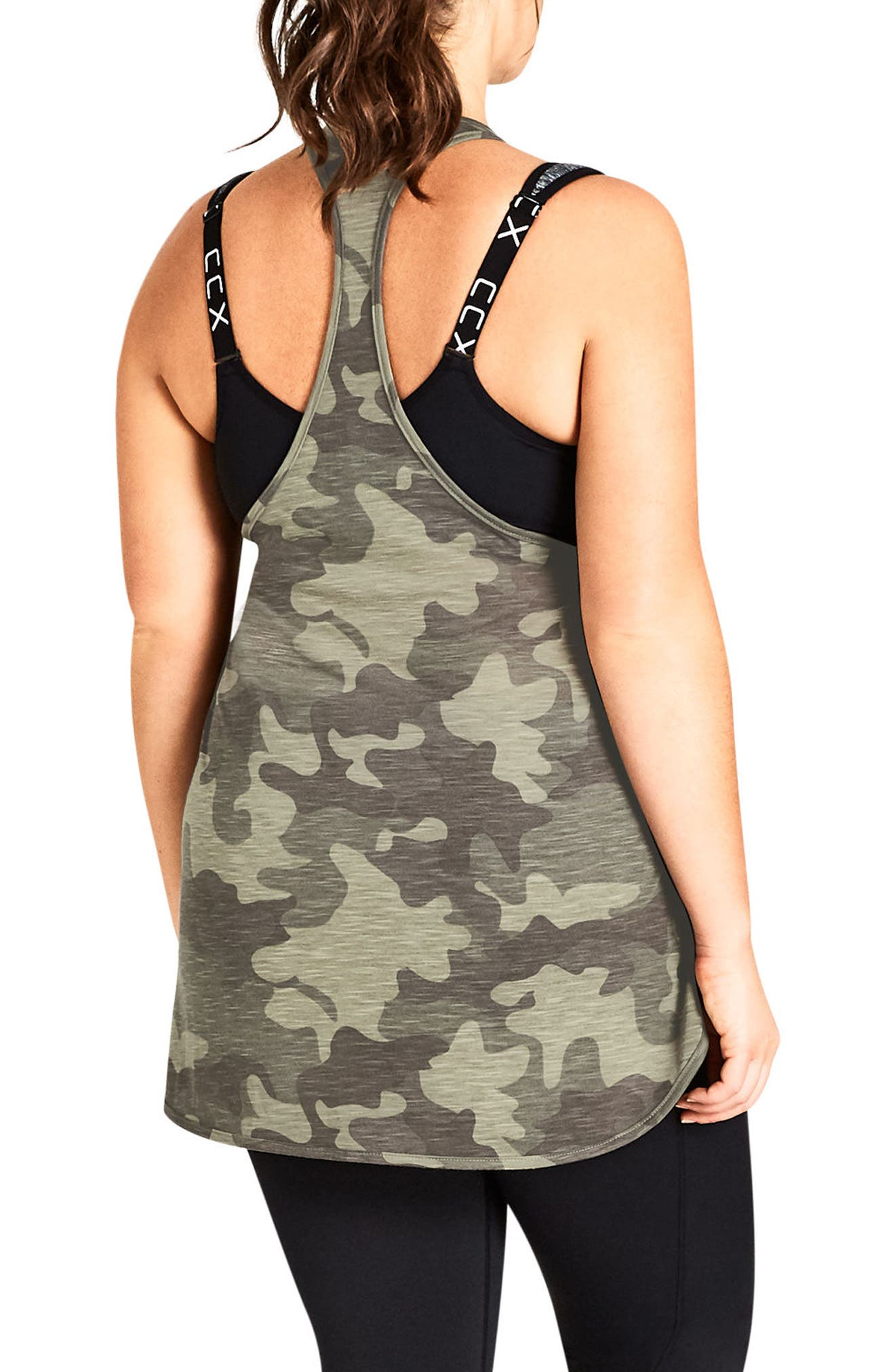 Camo Tank,                             Alternate thumbnail 2, color,                             Khaki