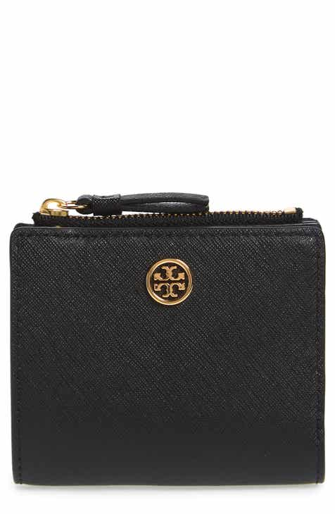 Tory Burch Mini Robinson Wallet Leather Bifold Wallet feee882ea46f