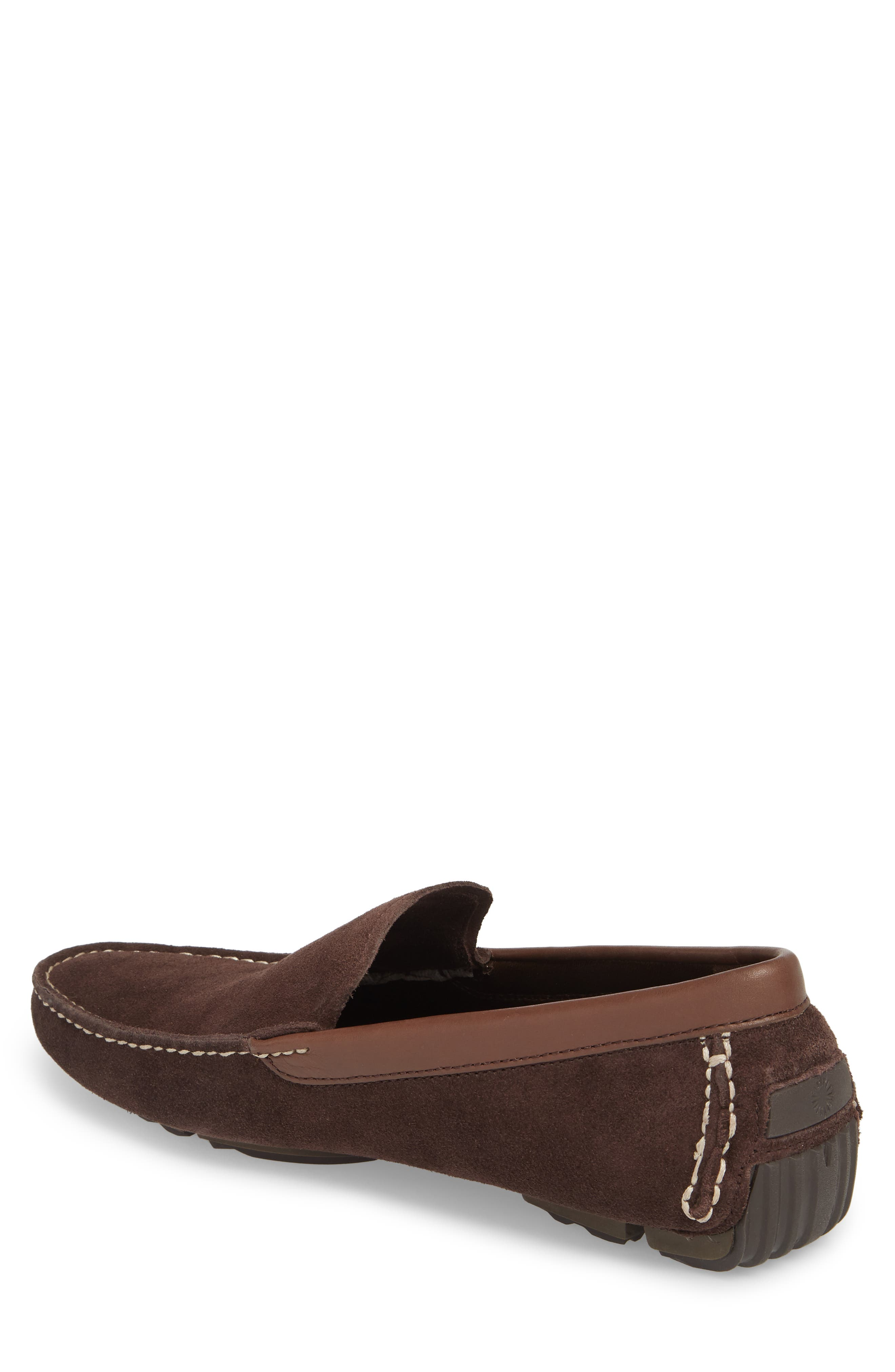 Bel-Air Driving Moccasin,                             Alternate thumbnail 2, color,                             Stout Leather