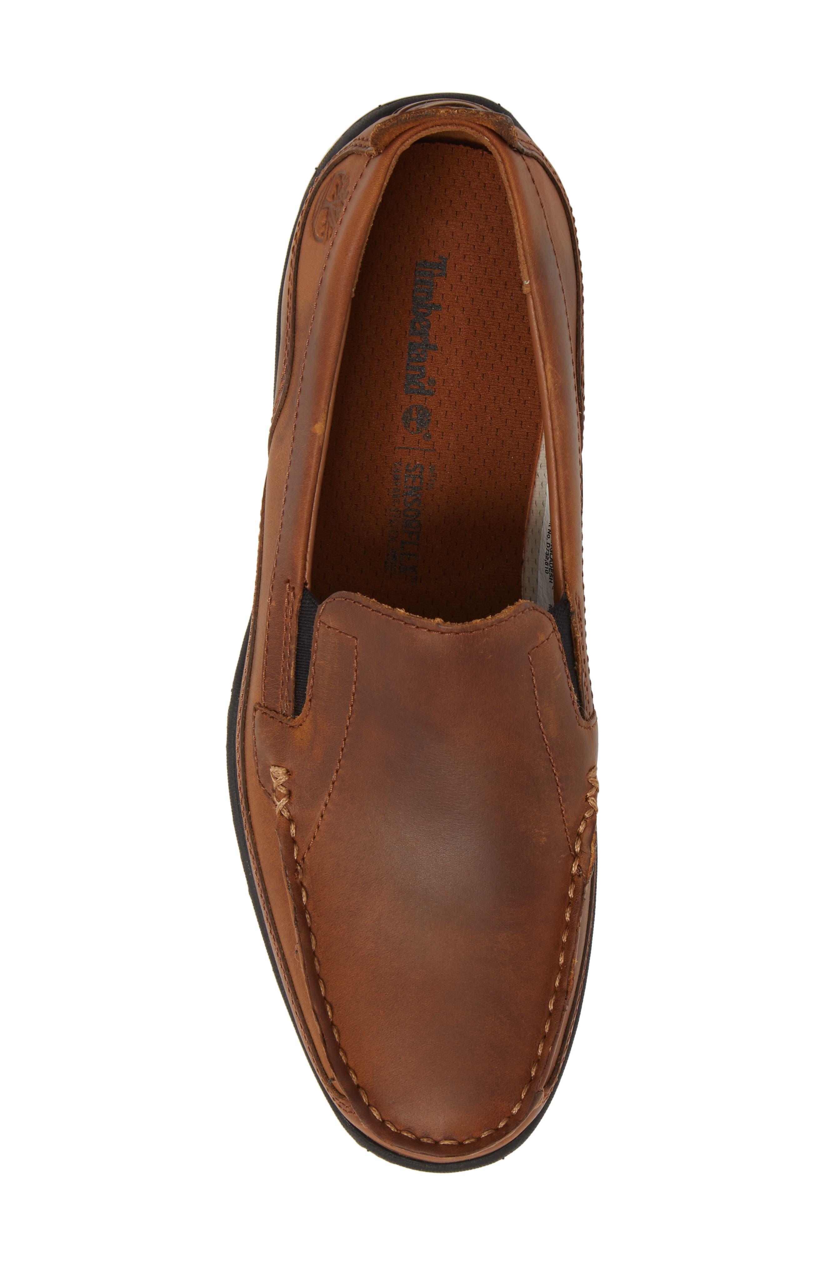 Sandspoint Venetian Loafer,                             Alternate thumbnail 5, color,                             Tan Old Harness