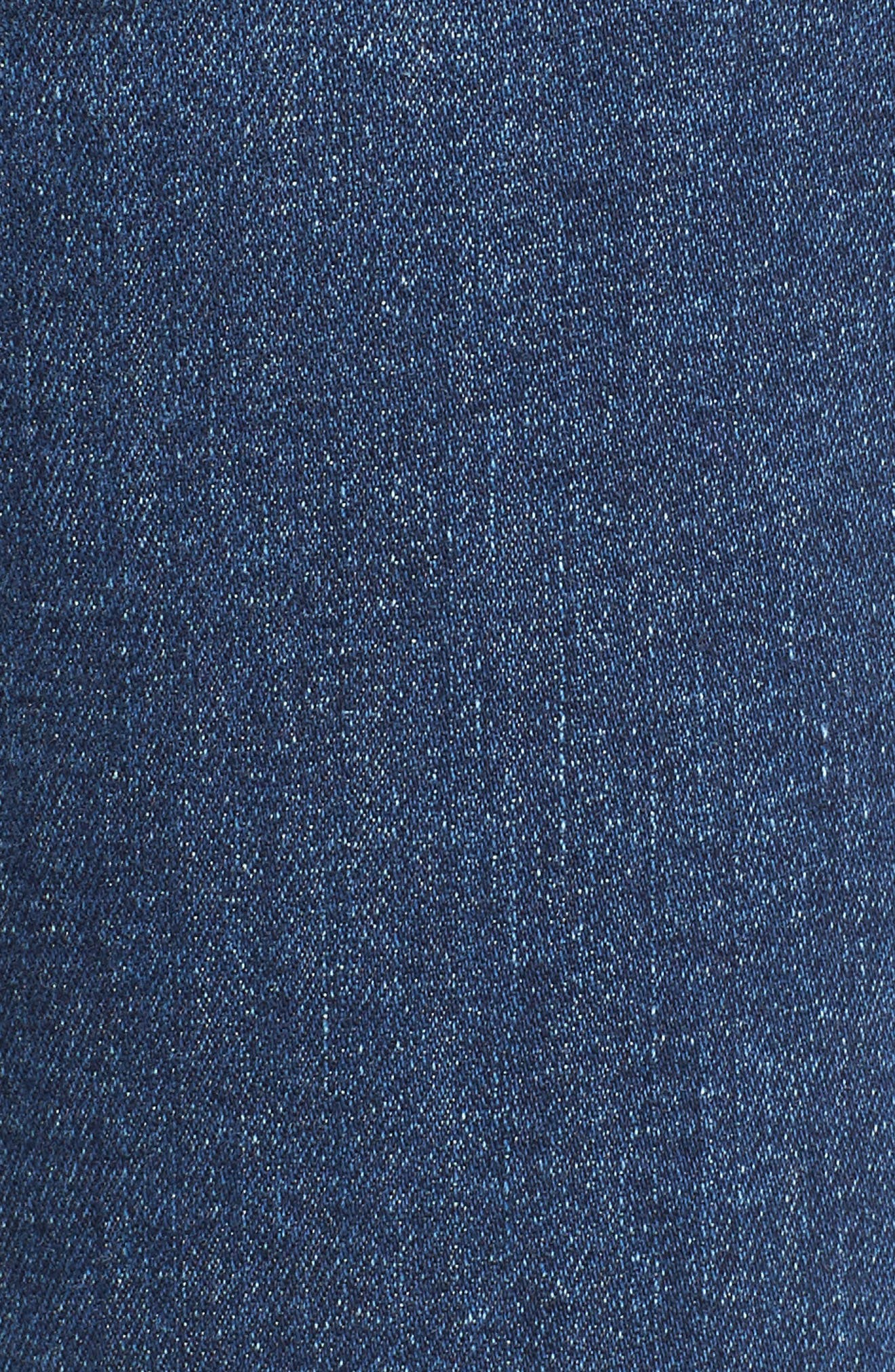 Transcend Vintage - Verdugo Ankle Skinny Jeans,                             Alternate thumbnail 6, color,                             Pico Destructed