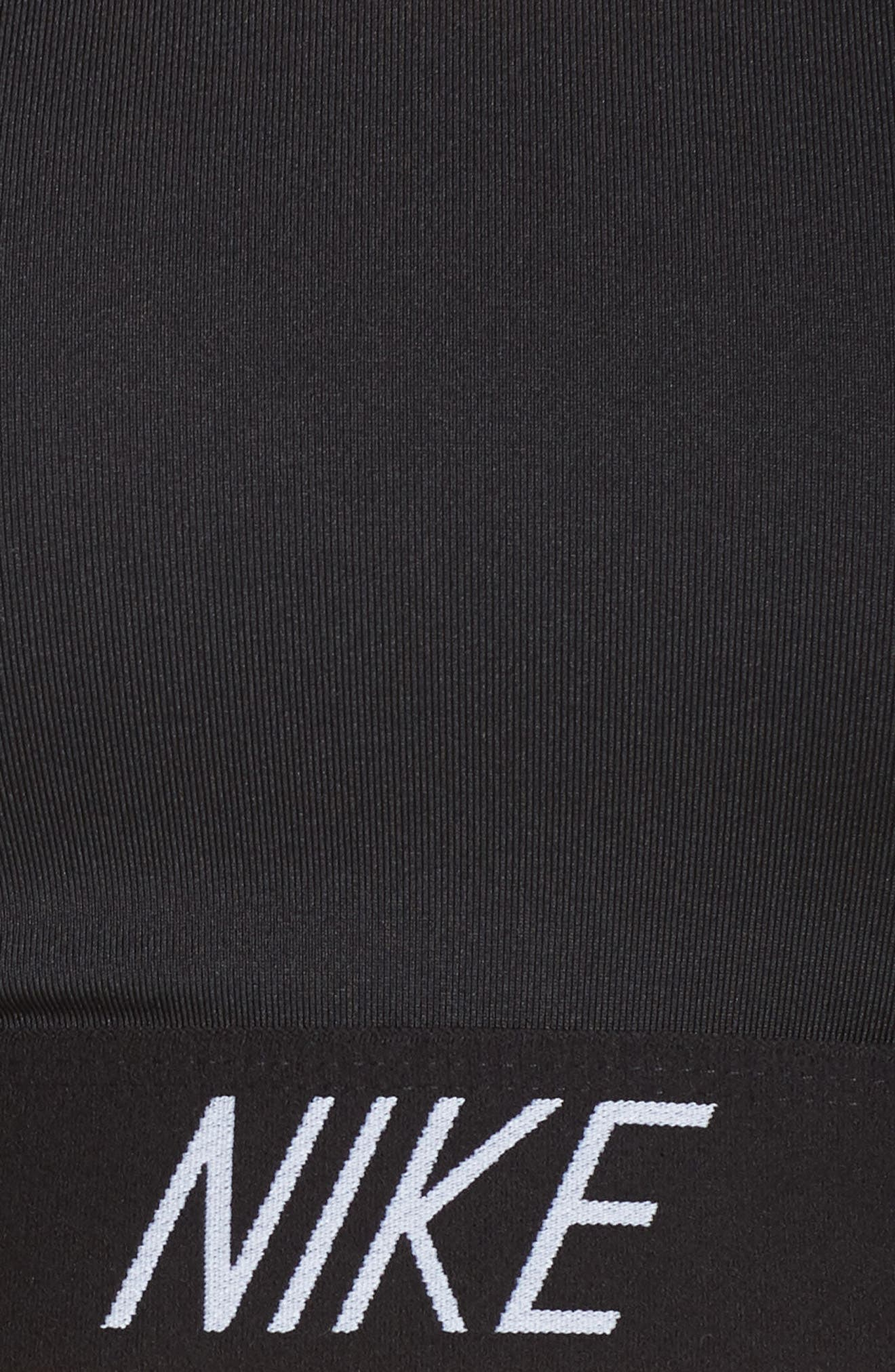 Alternate Image 5  - Nike Pro Indy Logo Sports Bra