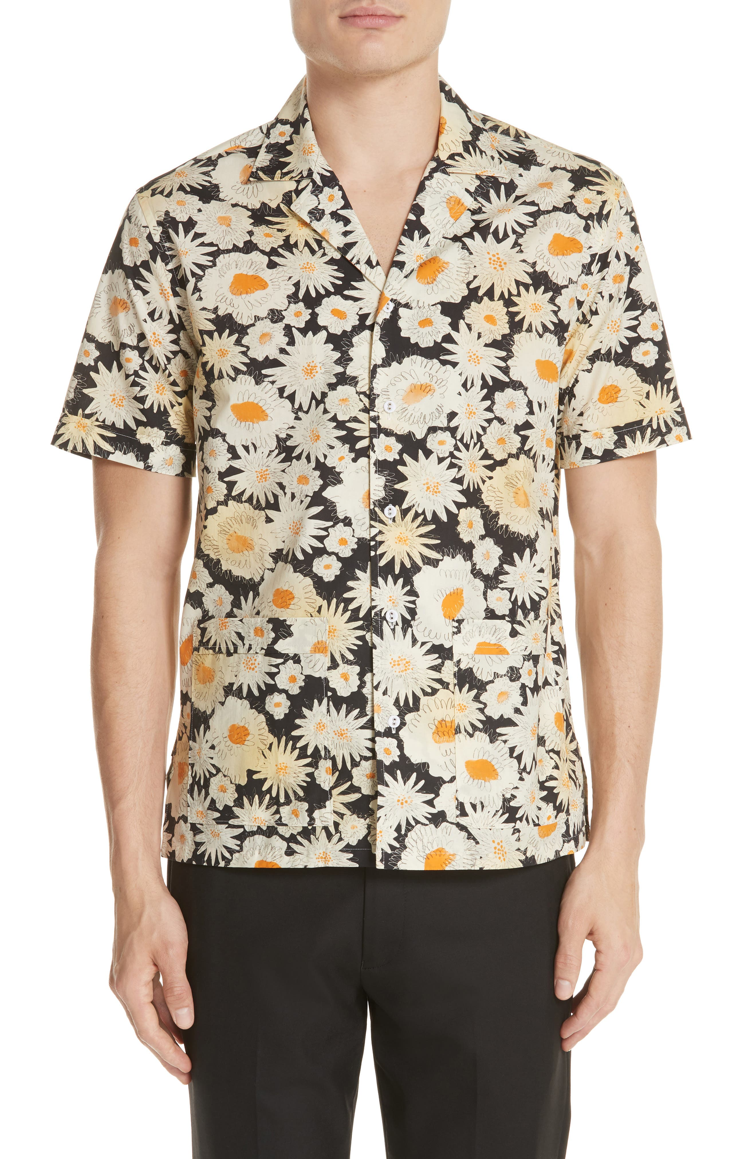 Burberry Jude Floral Print Shirt
