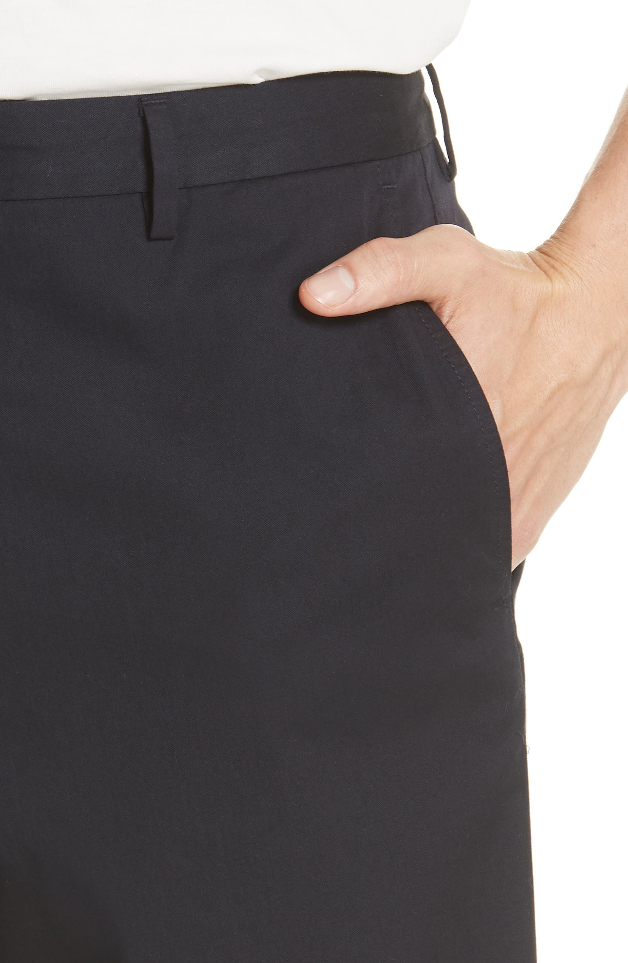 Stanhope Chino Shorts,                             Alternate thumbnail 4, color,                             Ink
