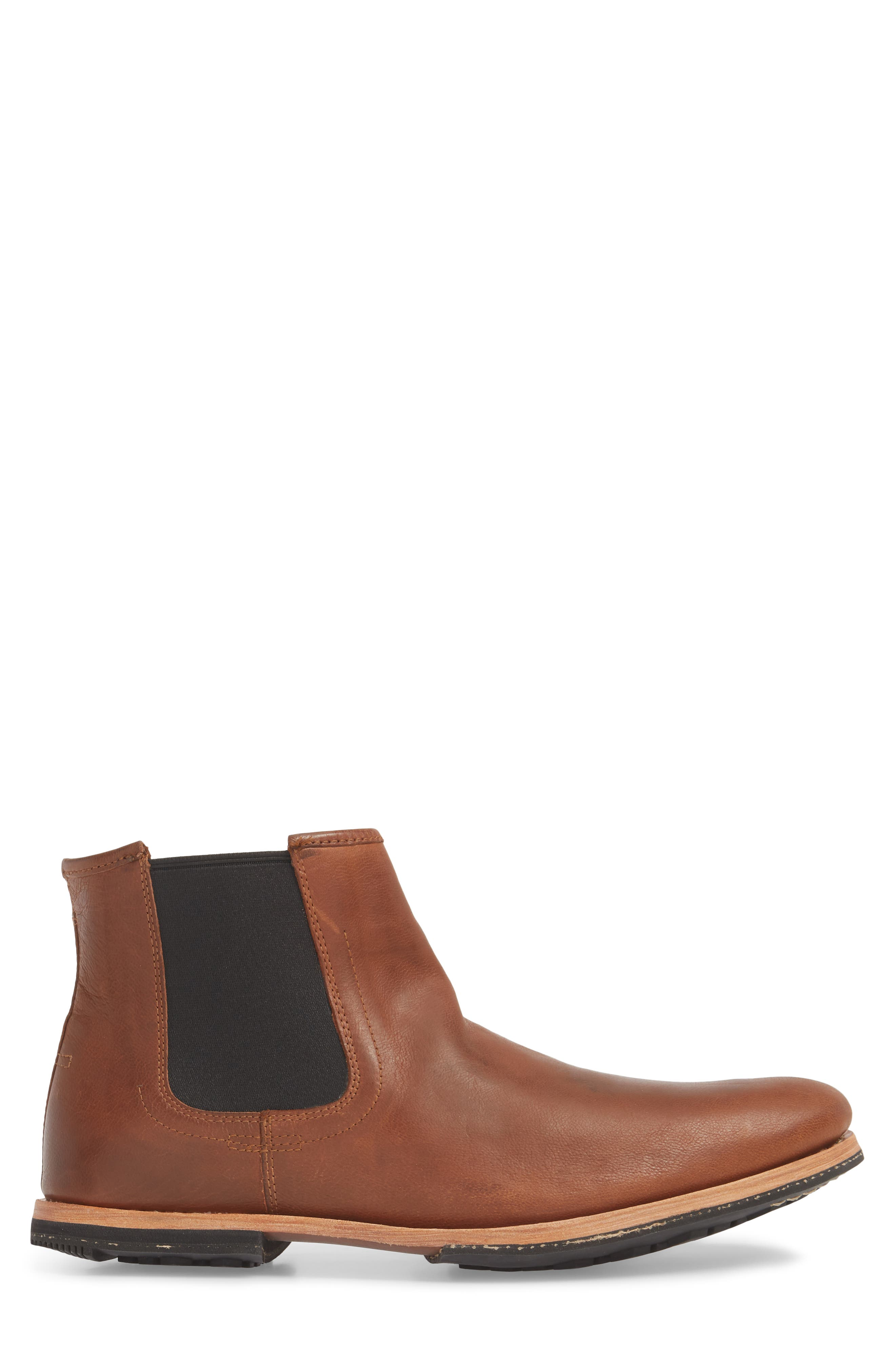 Wodehouse History Chelsea Boot,                             Alternate thumbnail 3, color,                             Medium Brown