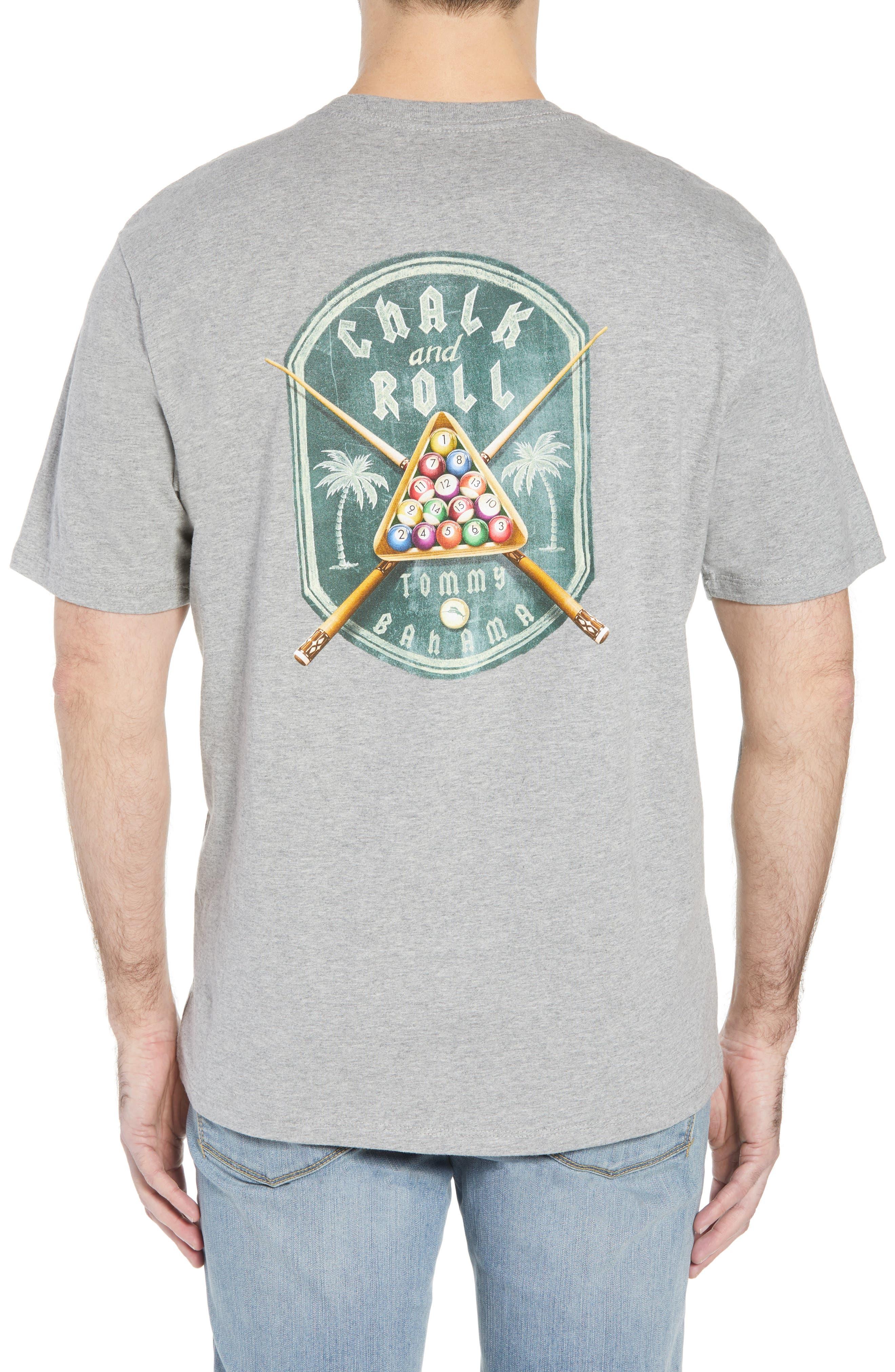 Chalk & Roll T-Shirt,                             Alternate thumbnail 2, color,                             Grey Heather