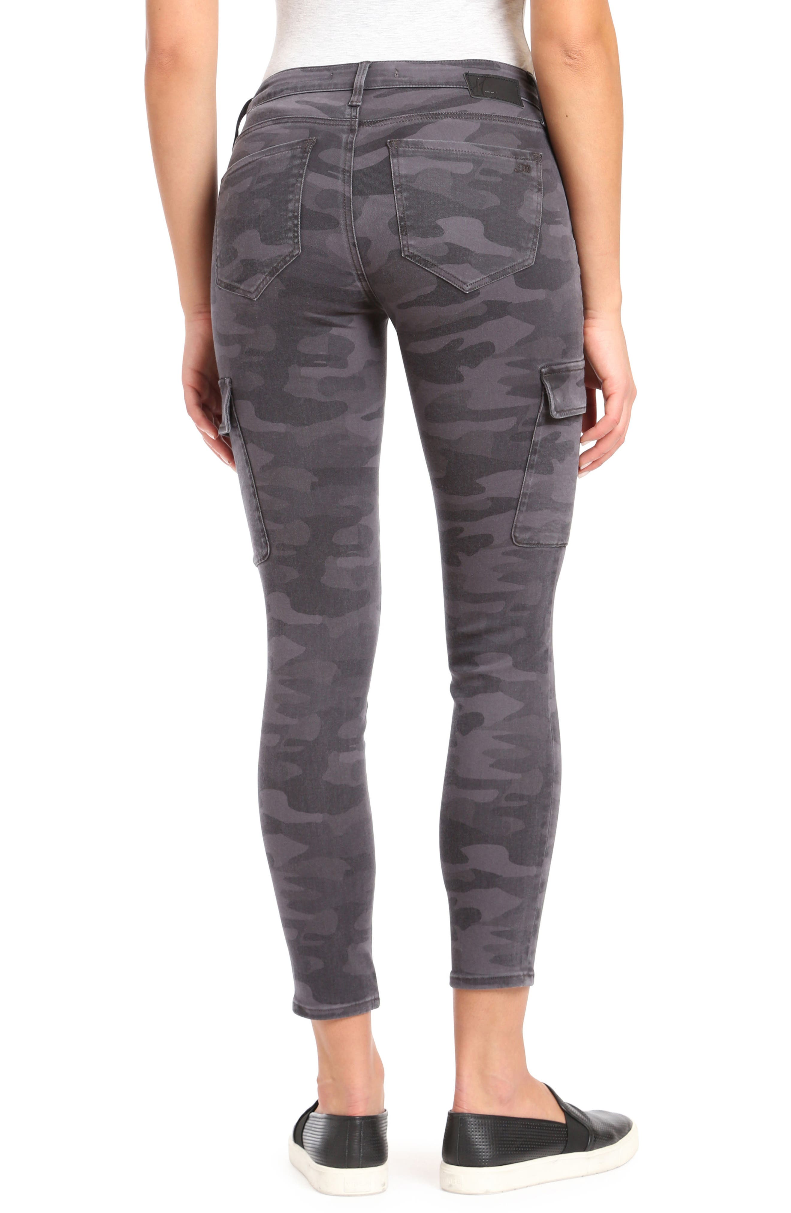 Alternate Image 2  - Mavi Jeans Juliette Camo Skinny Cargo Pants