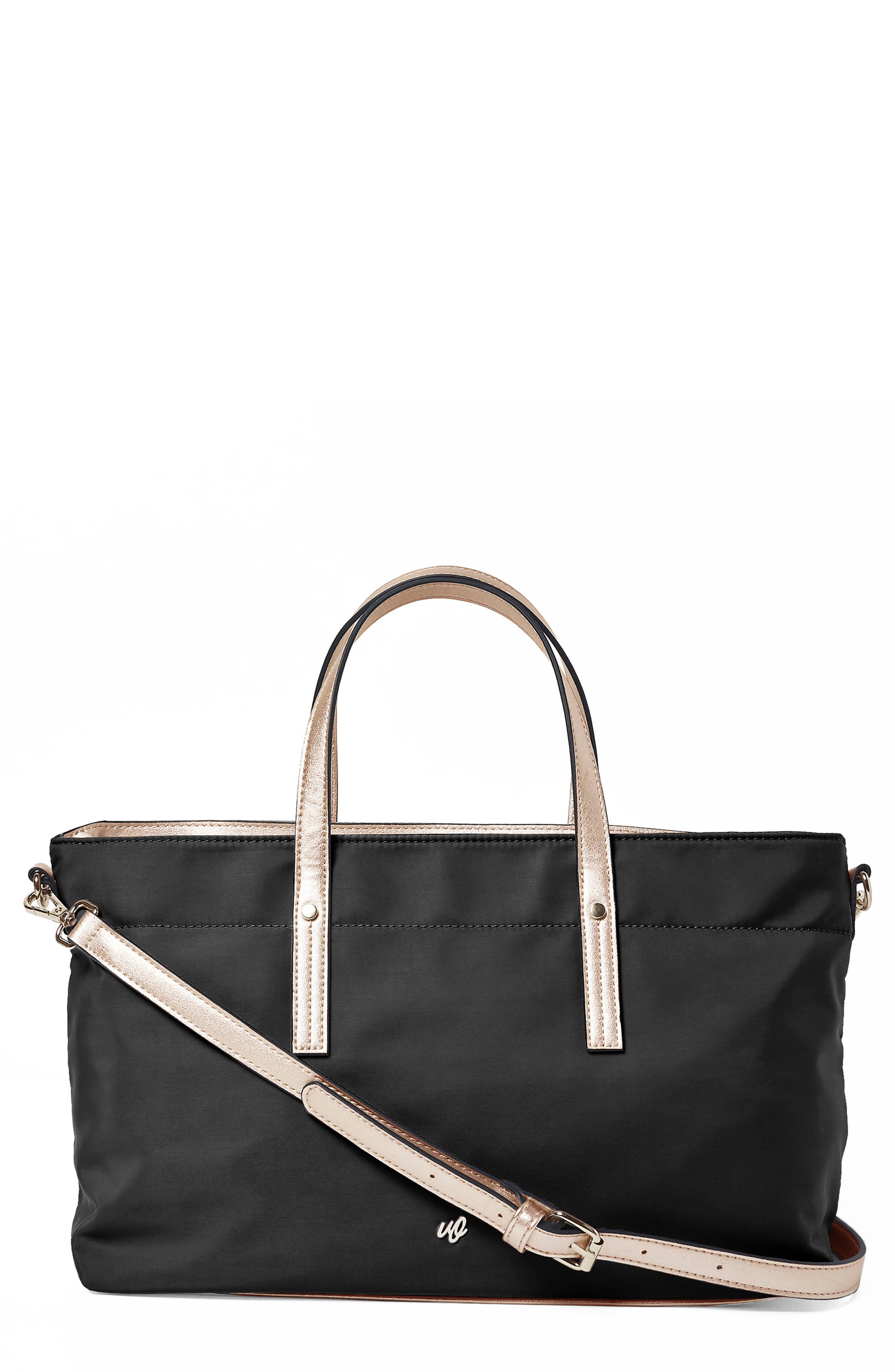 SUPERSTAR NYLON TOTE - BLACK
