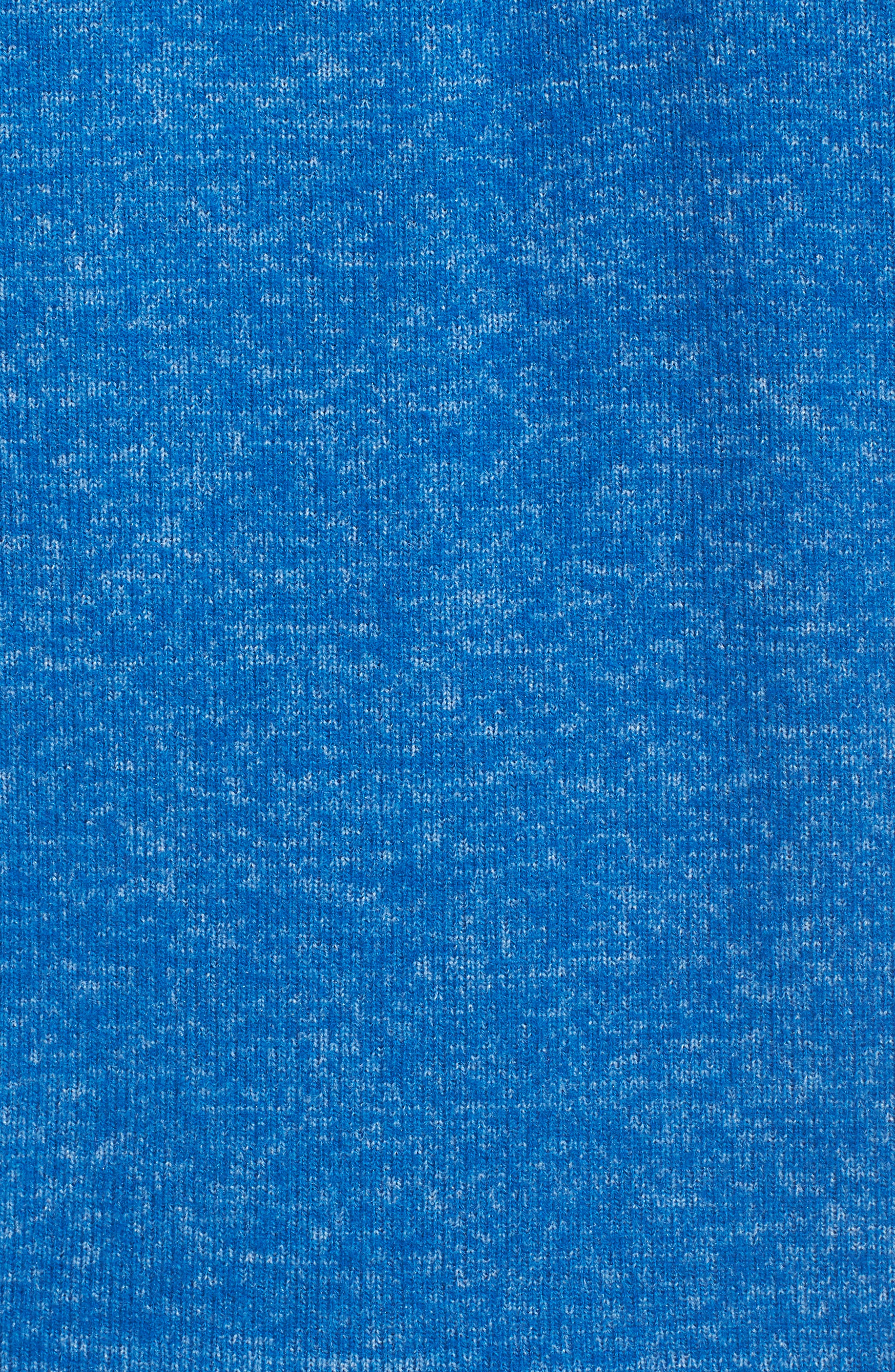 Brushed Hacci Hoodie,                             Alternate thumbnail 7, color,                             Blue Classics