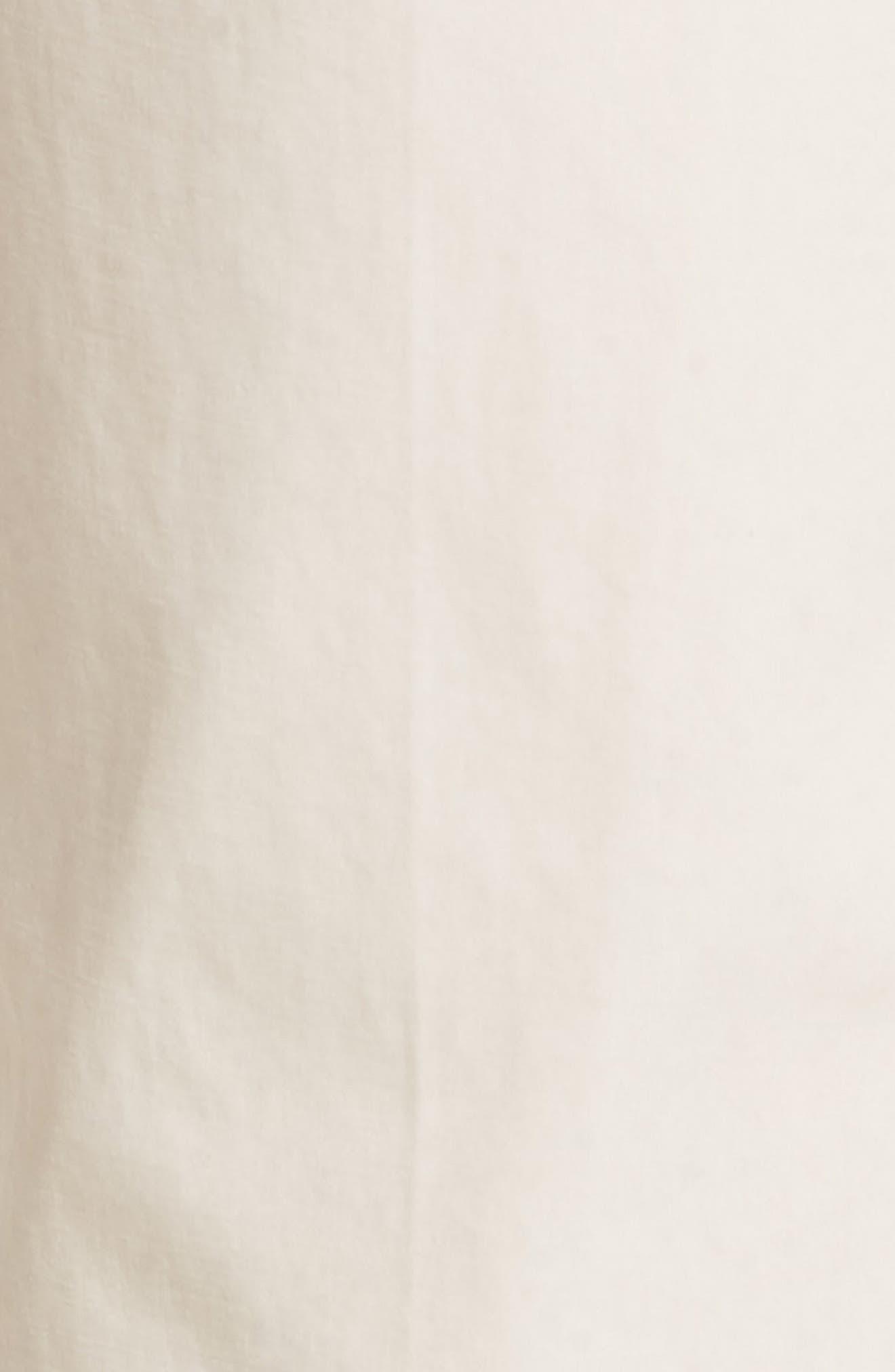 M2 Classic Fit Flat Front Tropical Cotton Poplin Pants,                             Alternate thumbnail 5, color,                             Sand